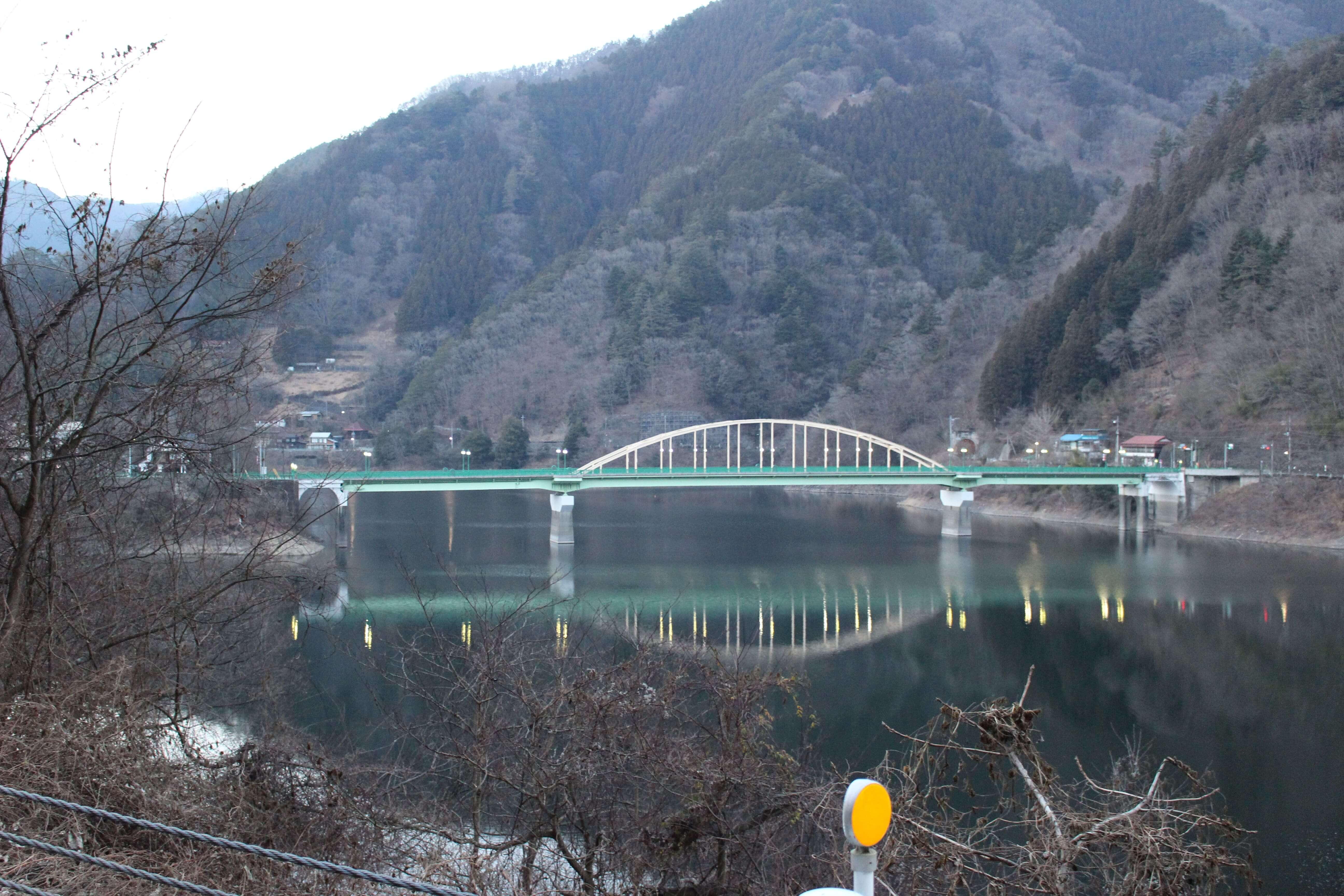 奥多摩 深山橋画像