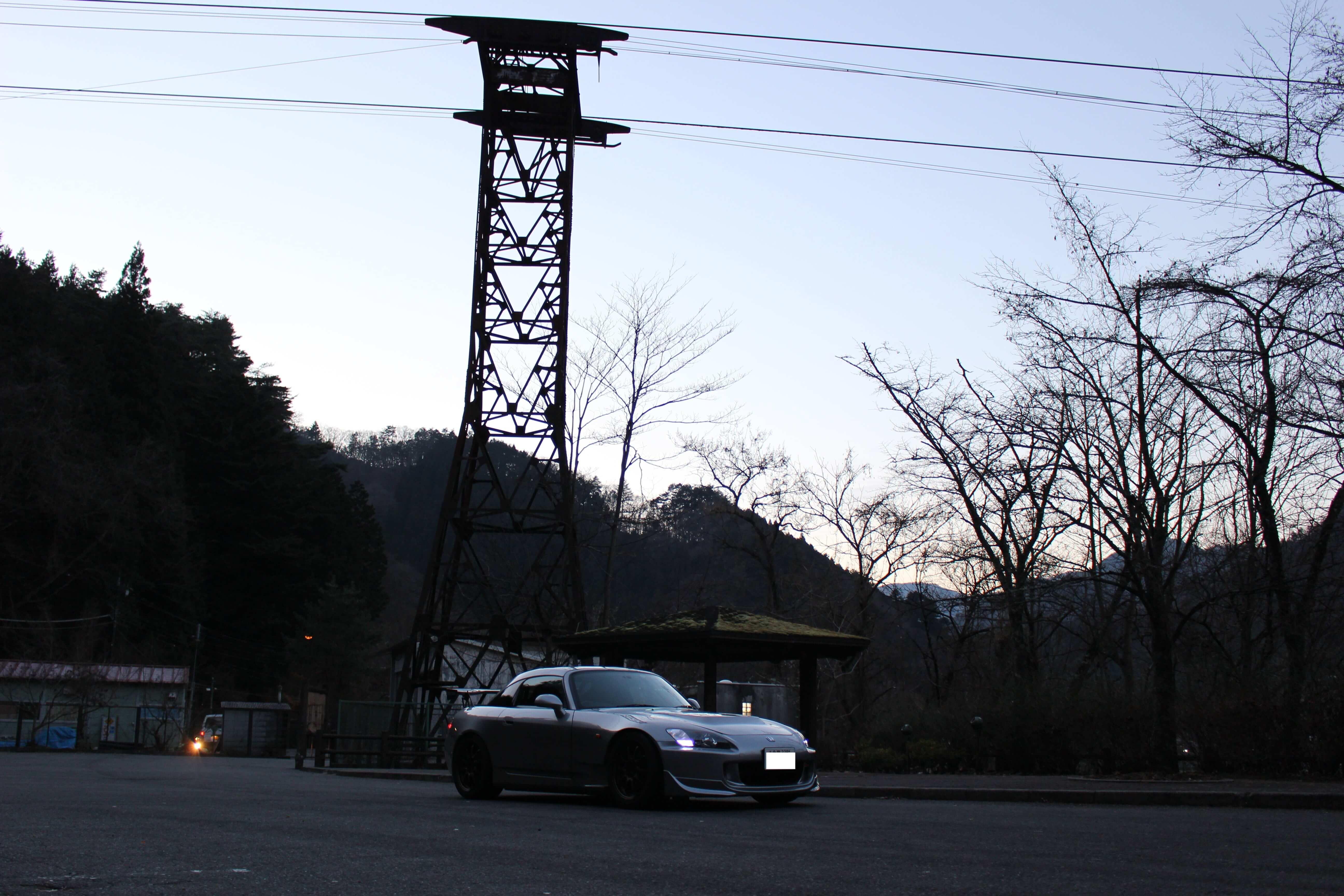 奥多摩周遊道路 川野駐車場画像