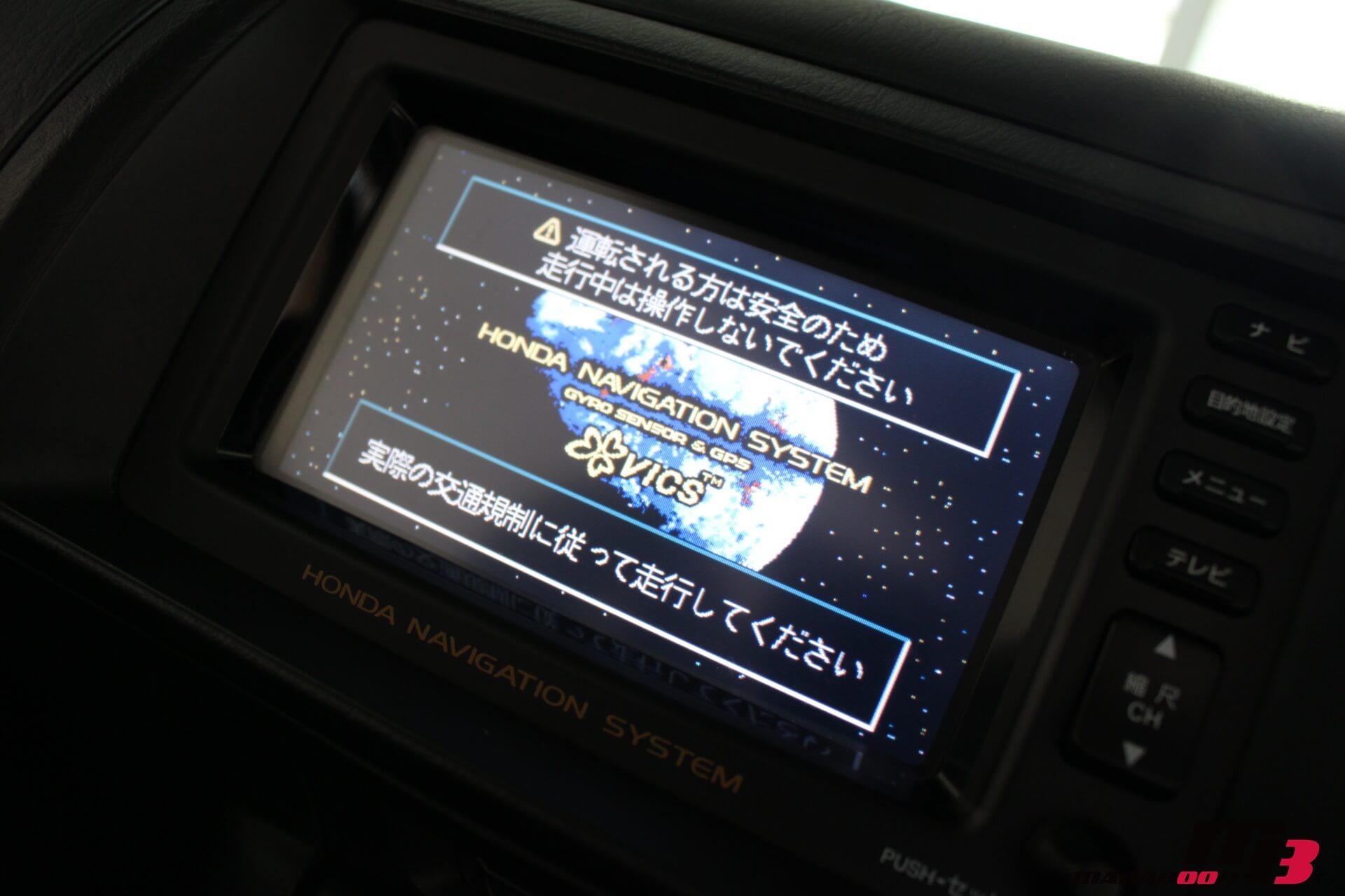 S2000純正DVDナビ画像