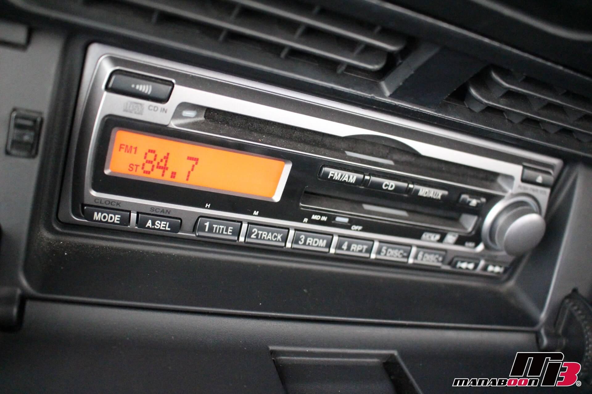 S2000 純正CDMDデッキ画像