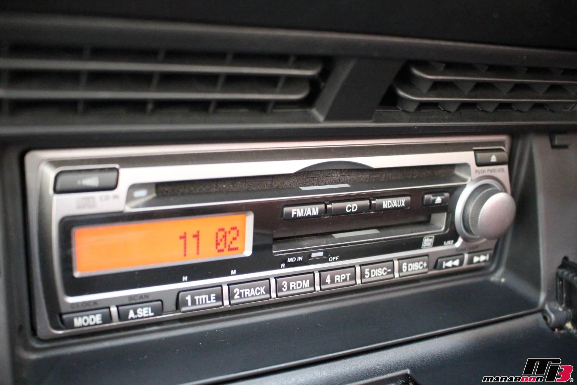 S2000(120型)純正CDMDデッキ画像