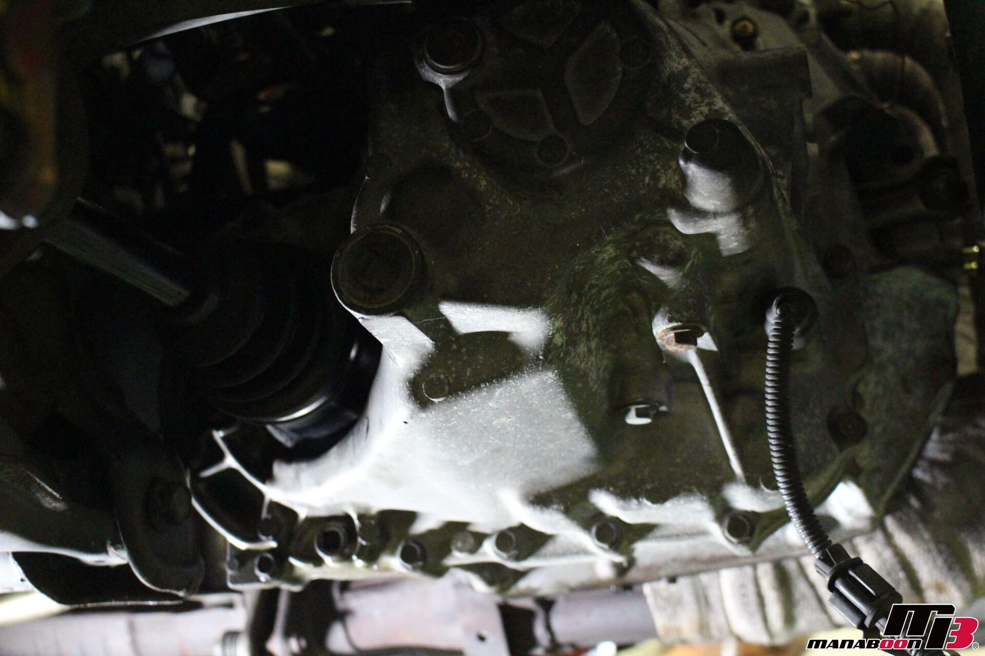 シビックタイプR(EK9)ミッション交換画像