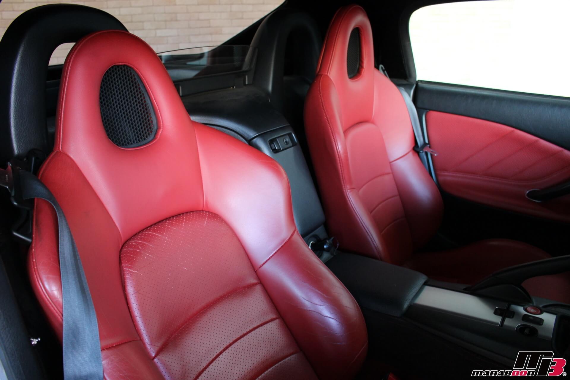 S2000赤レザーシート画像