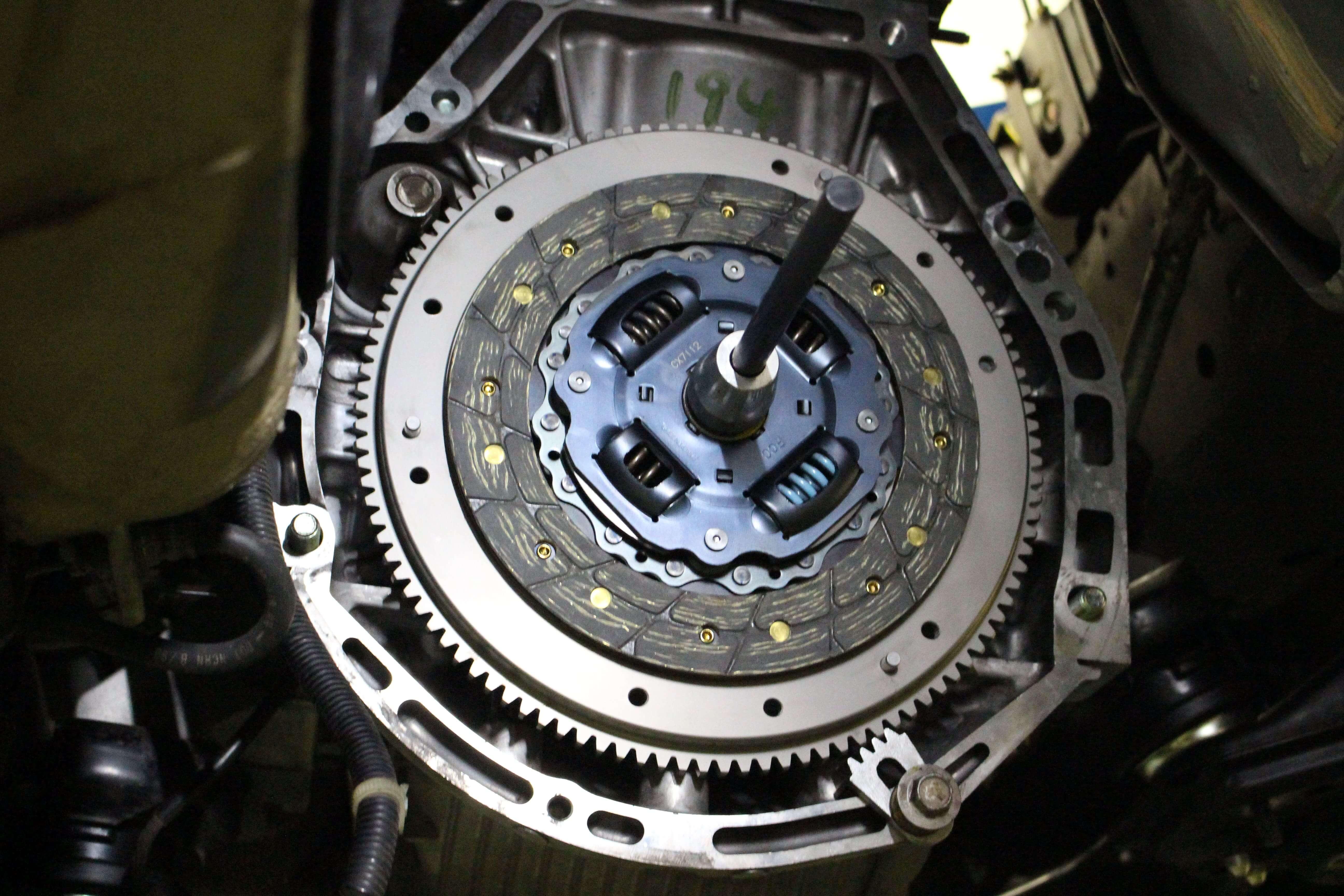 S2000 SPOONクラッチ取り付け画像