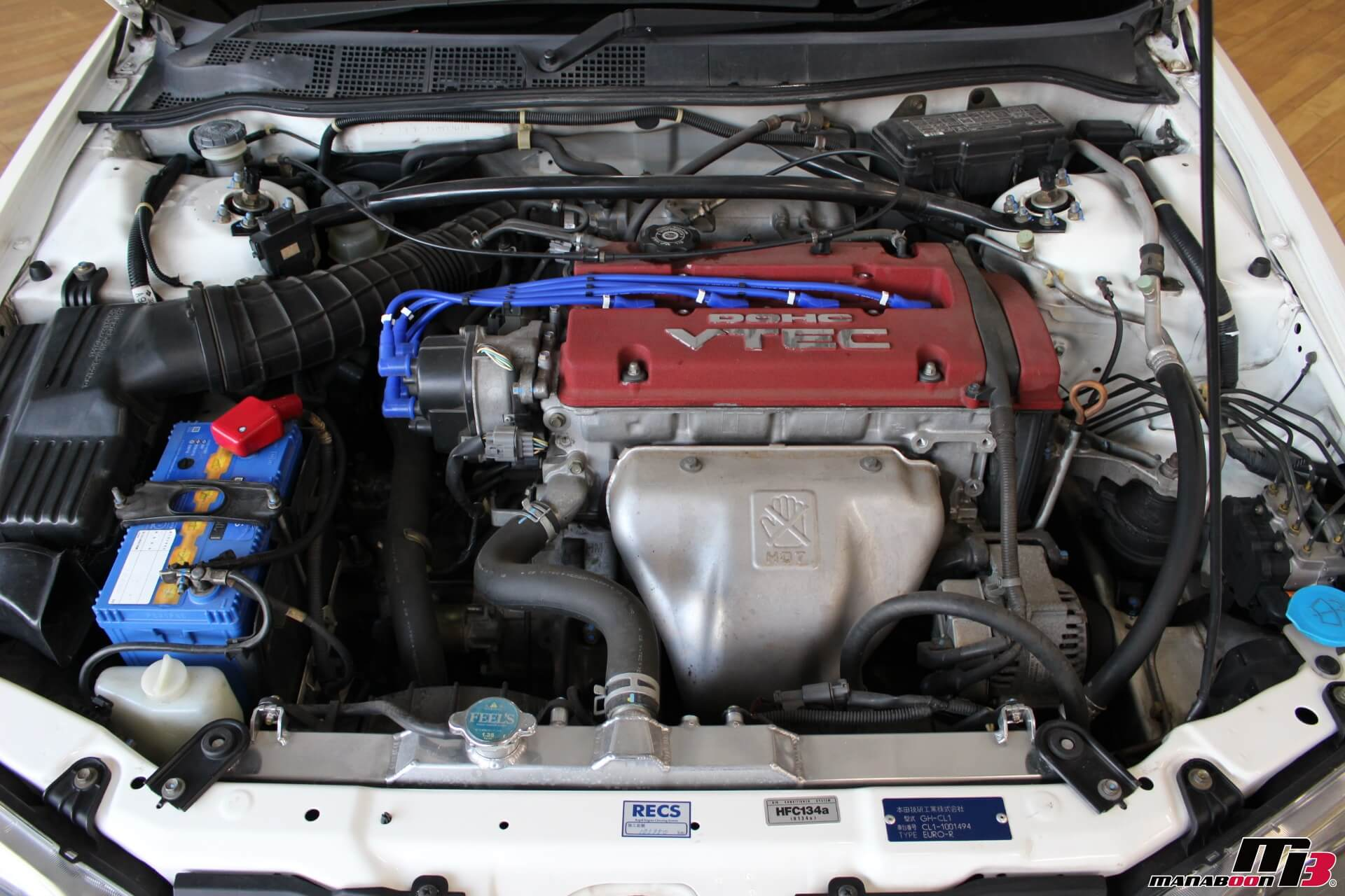 H22Aエンジン画像