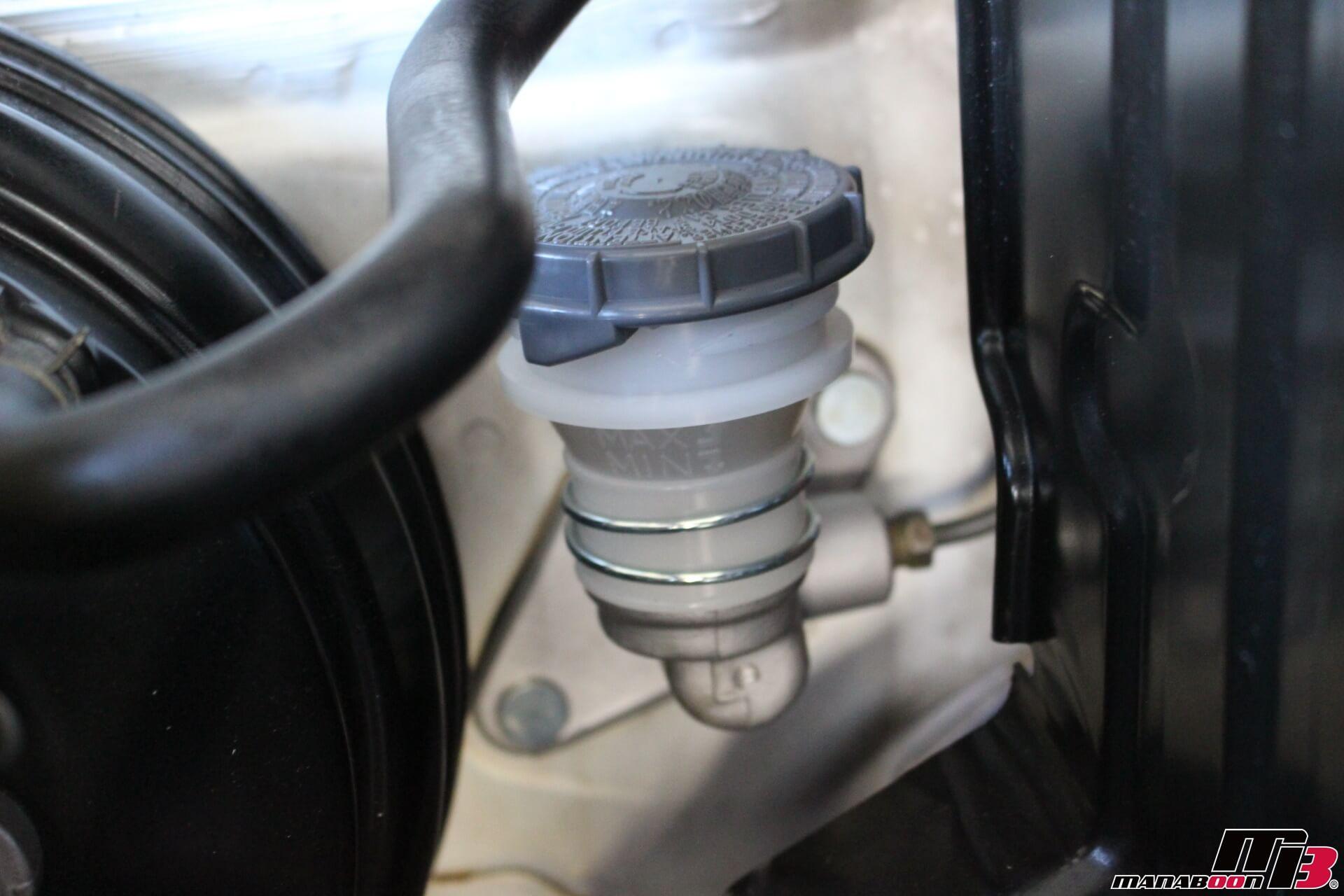 S2000クラッチフルードタンク画像