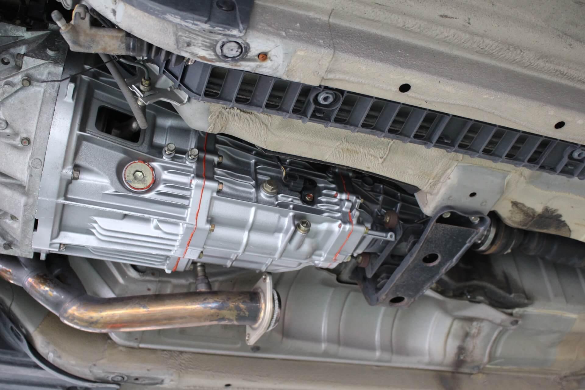 S2000リビルドミッション交換作業画像