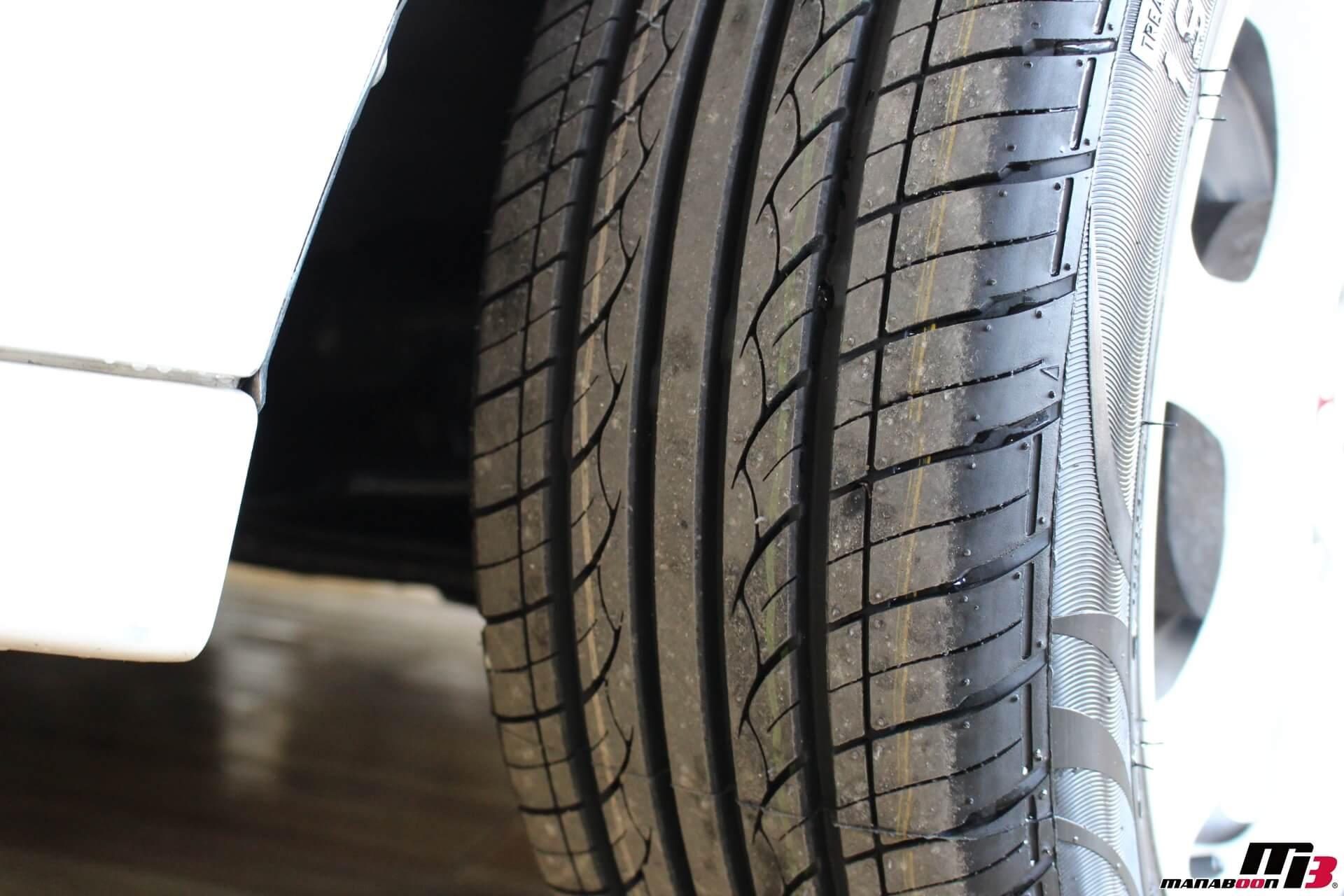 シビックタイプR(EK9)新品タイヤ画像