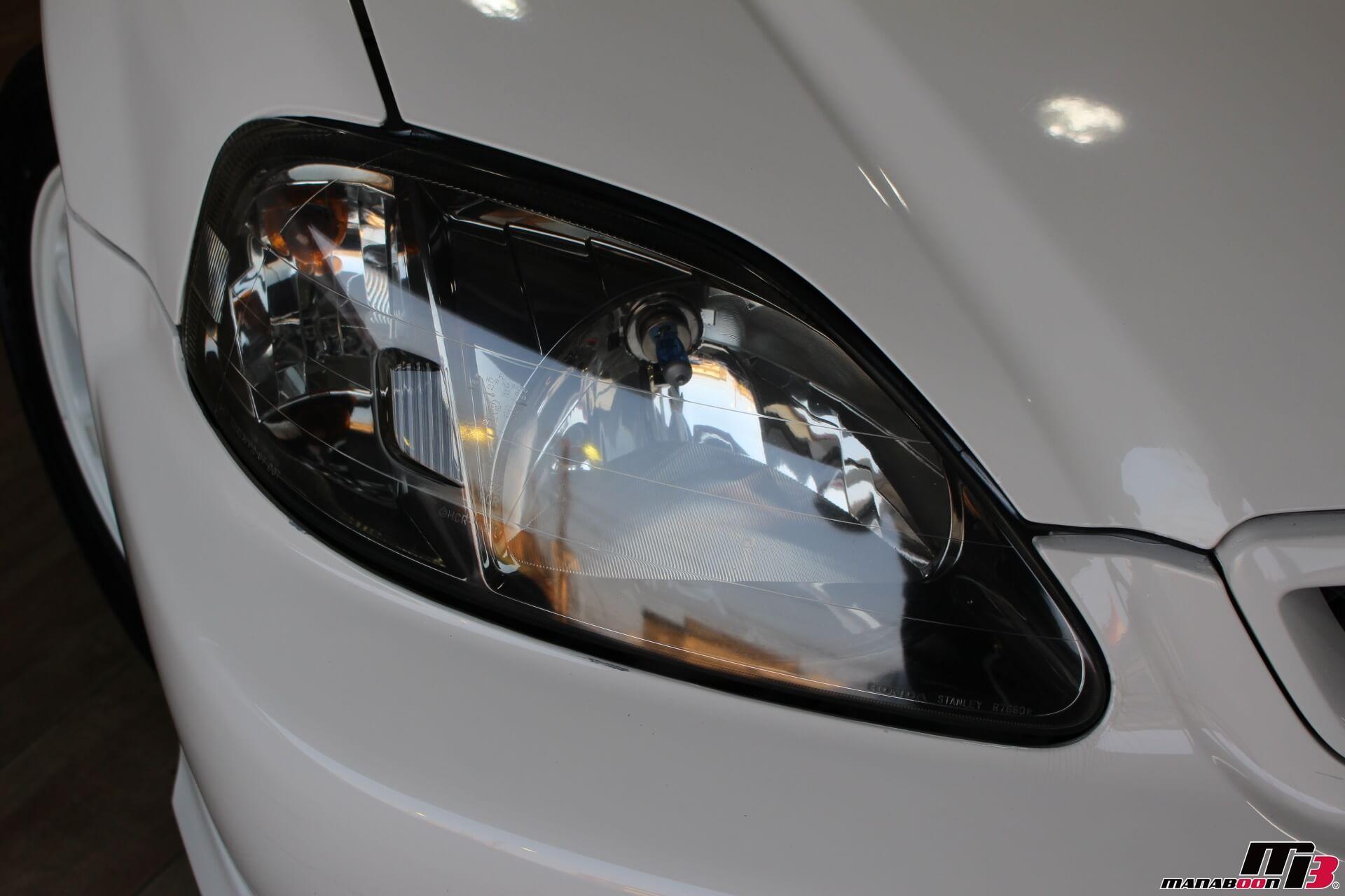 シビックタイプR(EK9)純正ヘッドライト画像