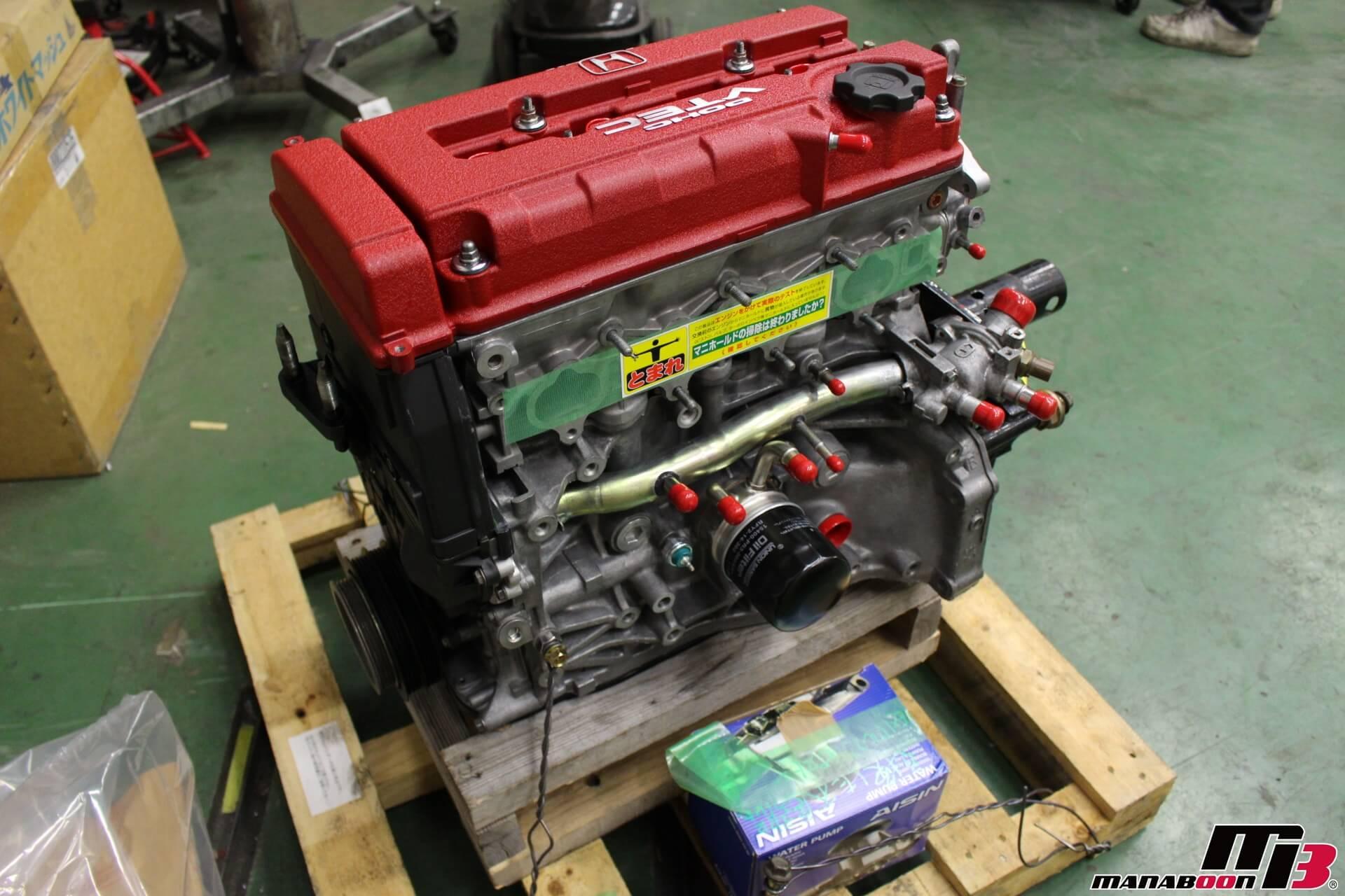 シビックタイプR(EK9)オーバーホール済みエンジン