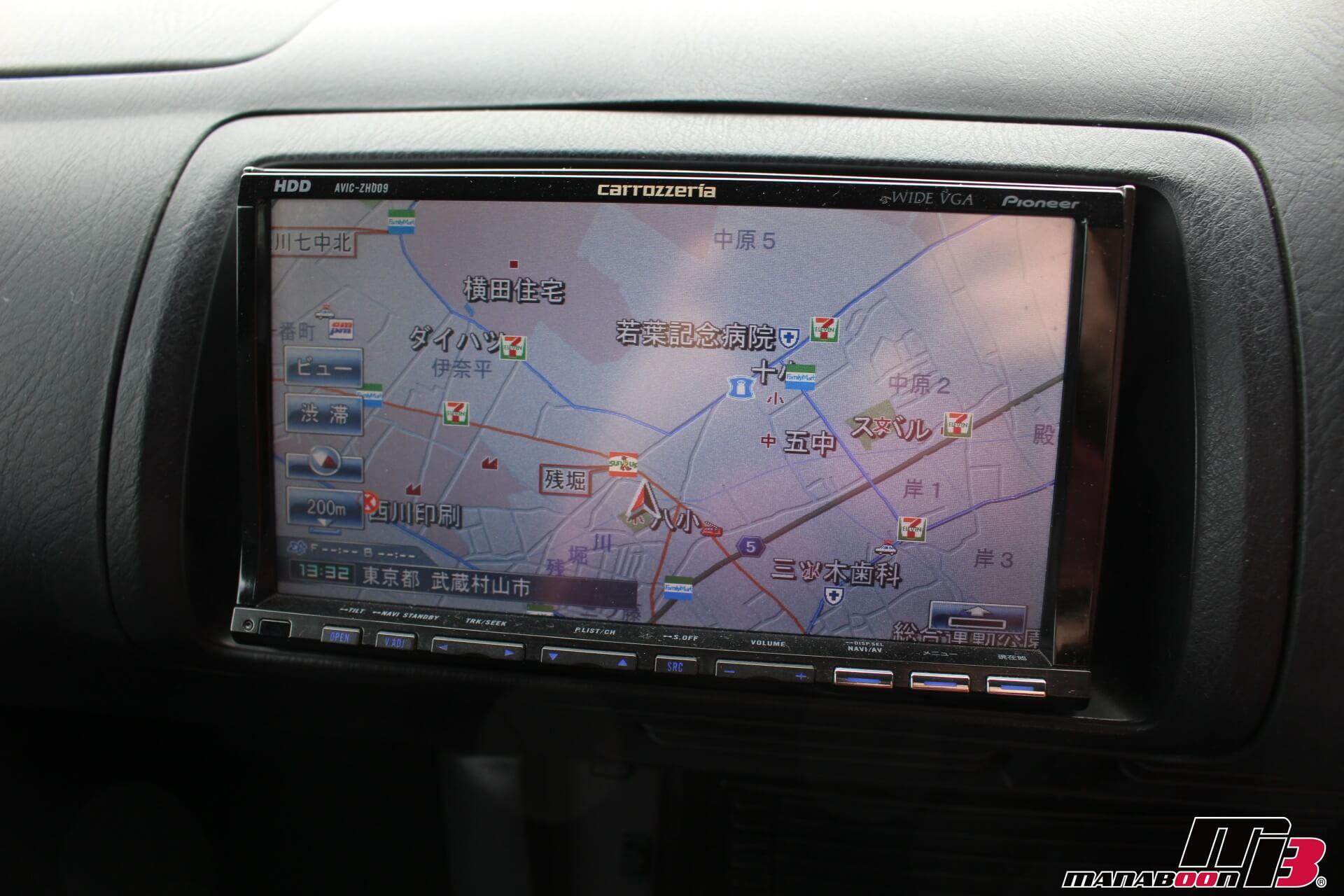 S2000カロッツェリアHDDナビ画像