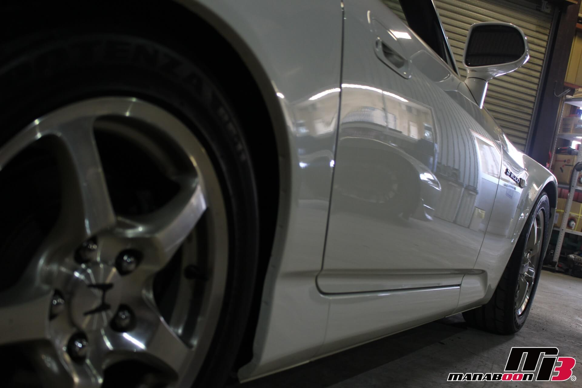 S2000ボデイ側面画像