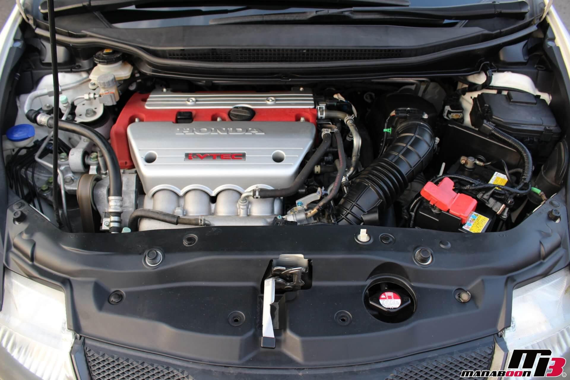 シビックタイプRユーロエンジン画像