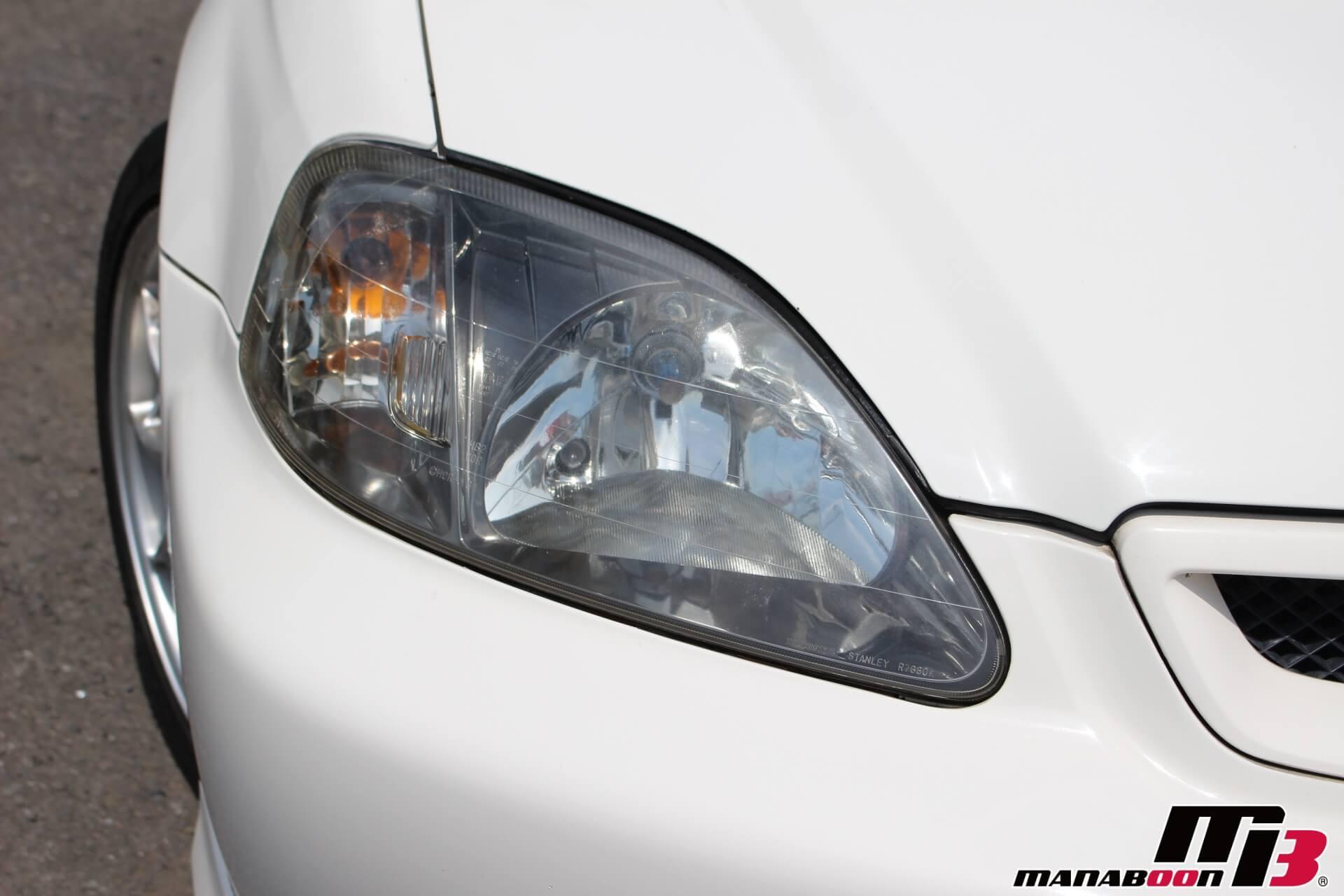 シビックタイプR(EK9)後期型 ヘッドライト画像