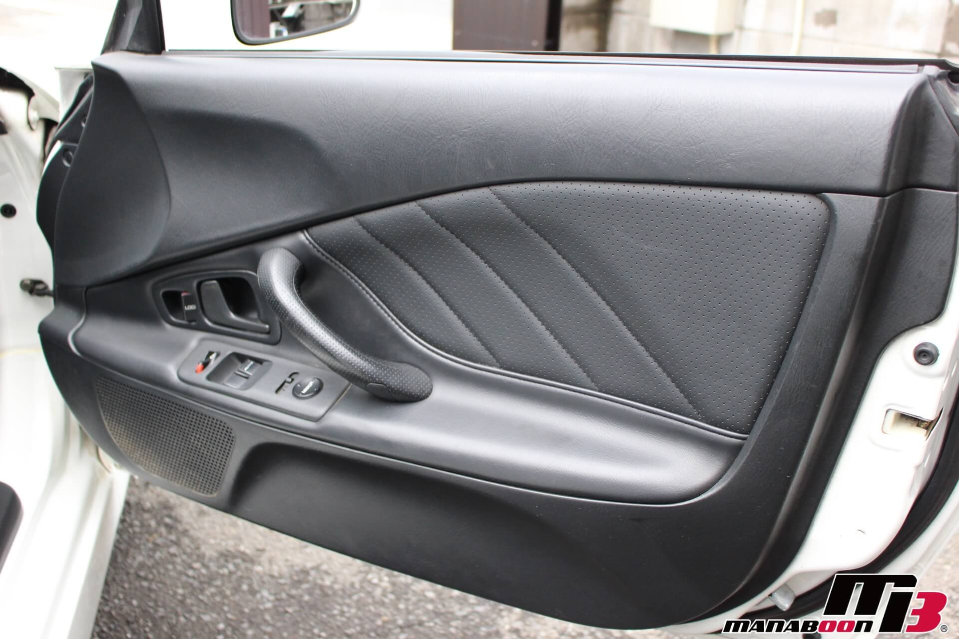 S2000タイプV黒革ドアトリム画像