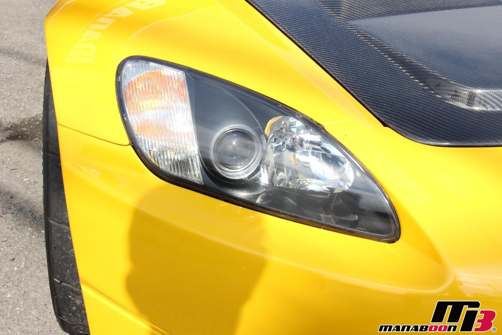 S2000 ヘッドライト画像