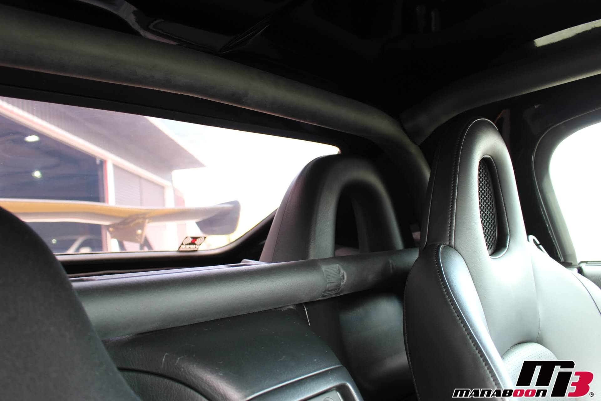 S2000ダッシュ貫通ロールバー画像
