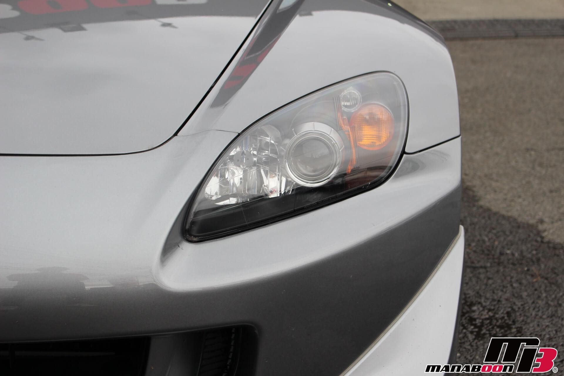 S2000タイプS ヘッドライト画像
