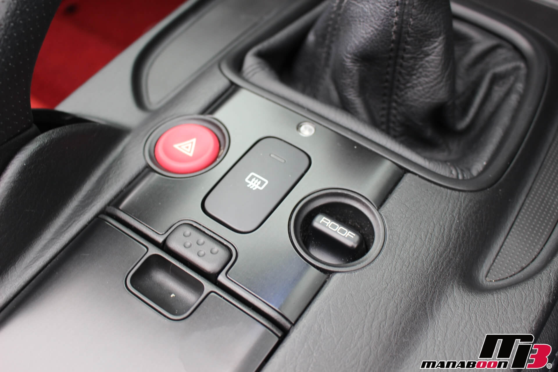 S2000タイプS ガラス幌熱線スイッチ画像