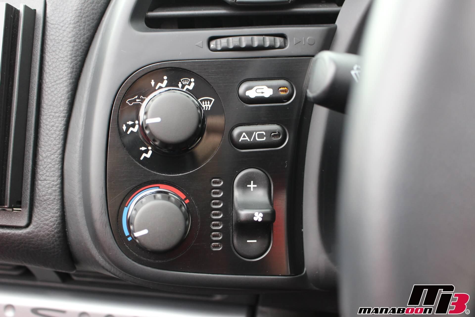 S2000タイプS エアコンスイッチ画像