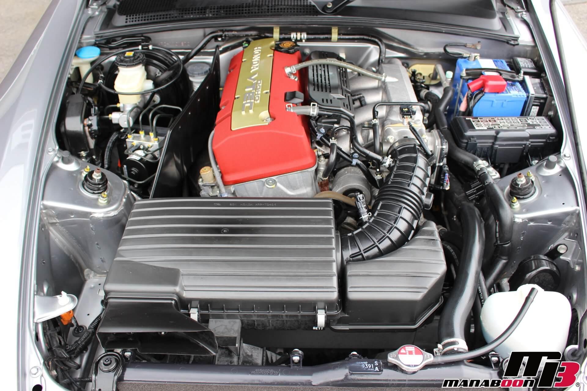 S2000タイプS エンジンルーム画像