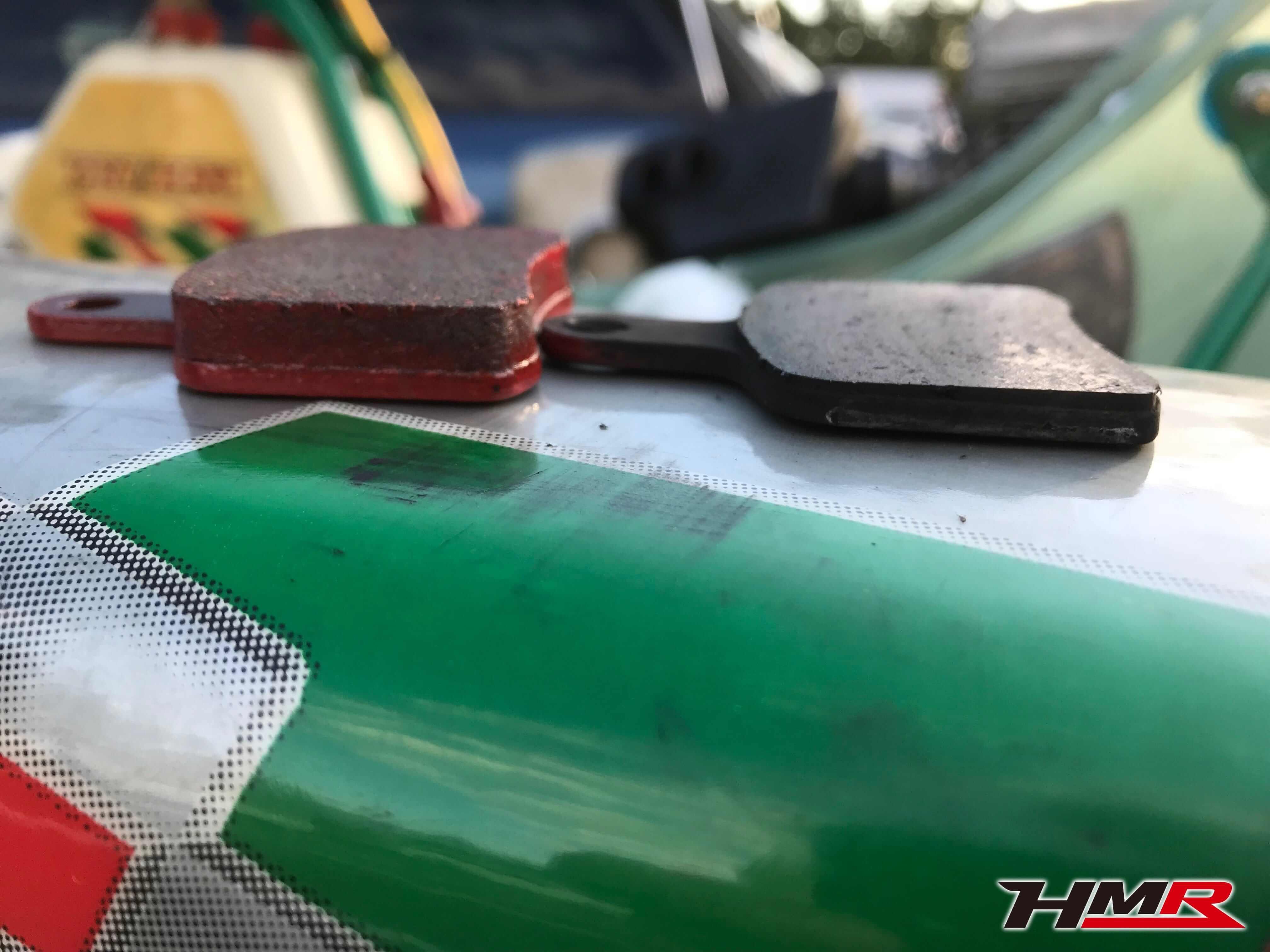 レーシングカートブレーキパッド画像