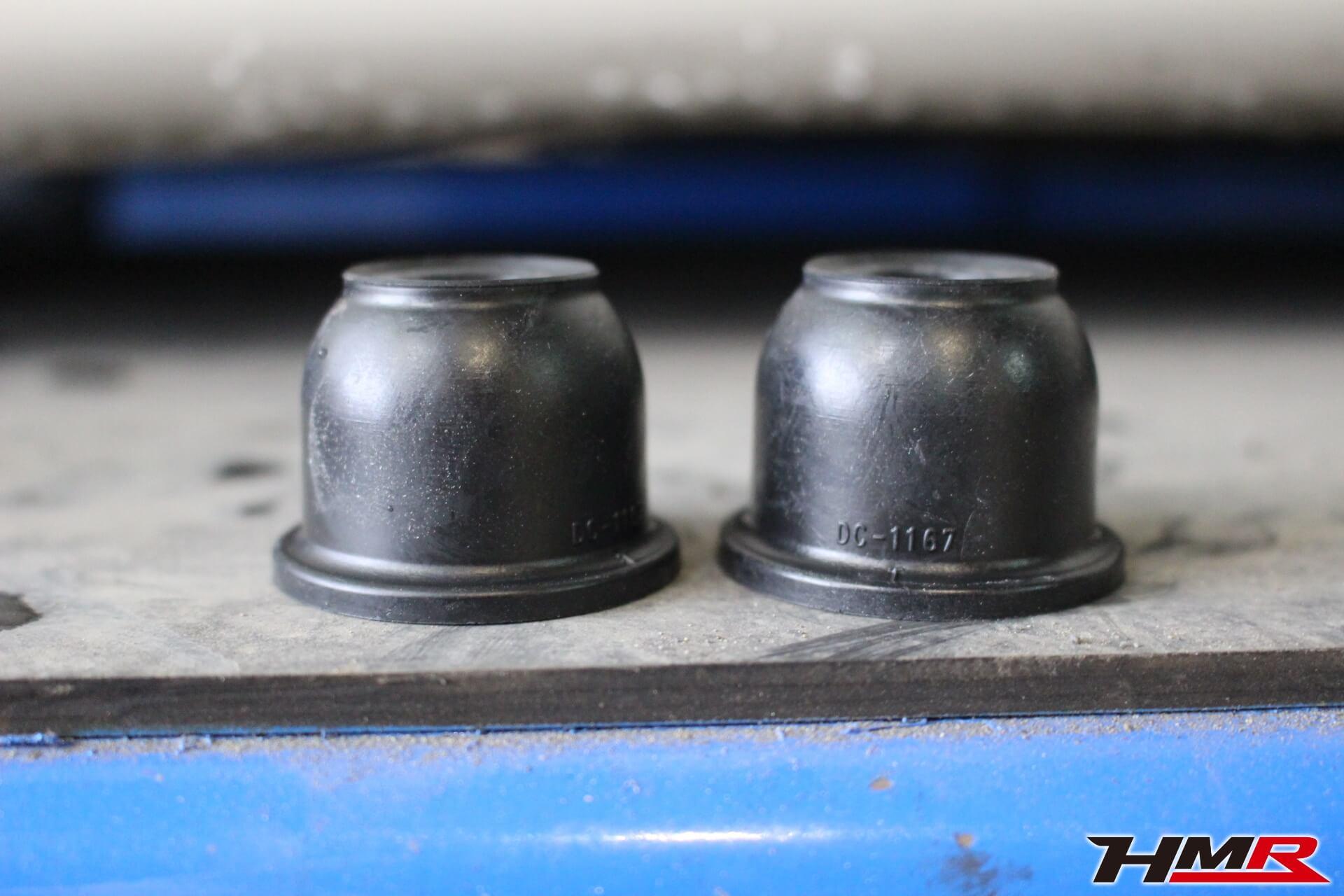 インテグラタイプR(DC5)タイロッドエンドブーツ交換画像