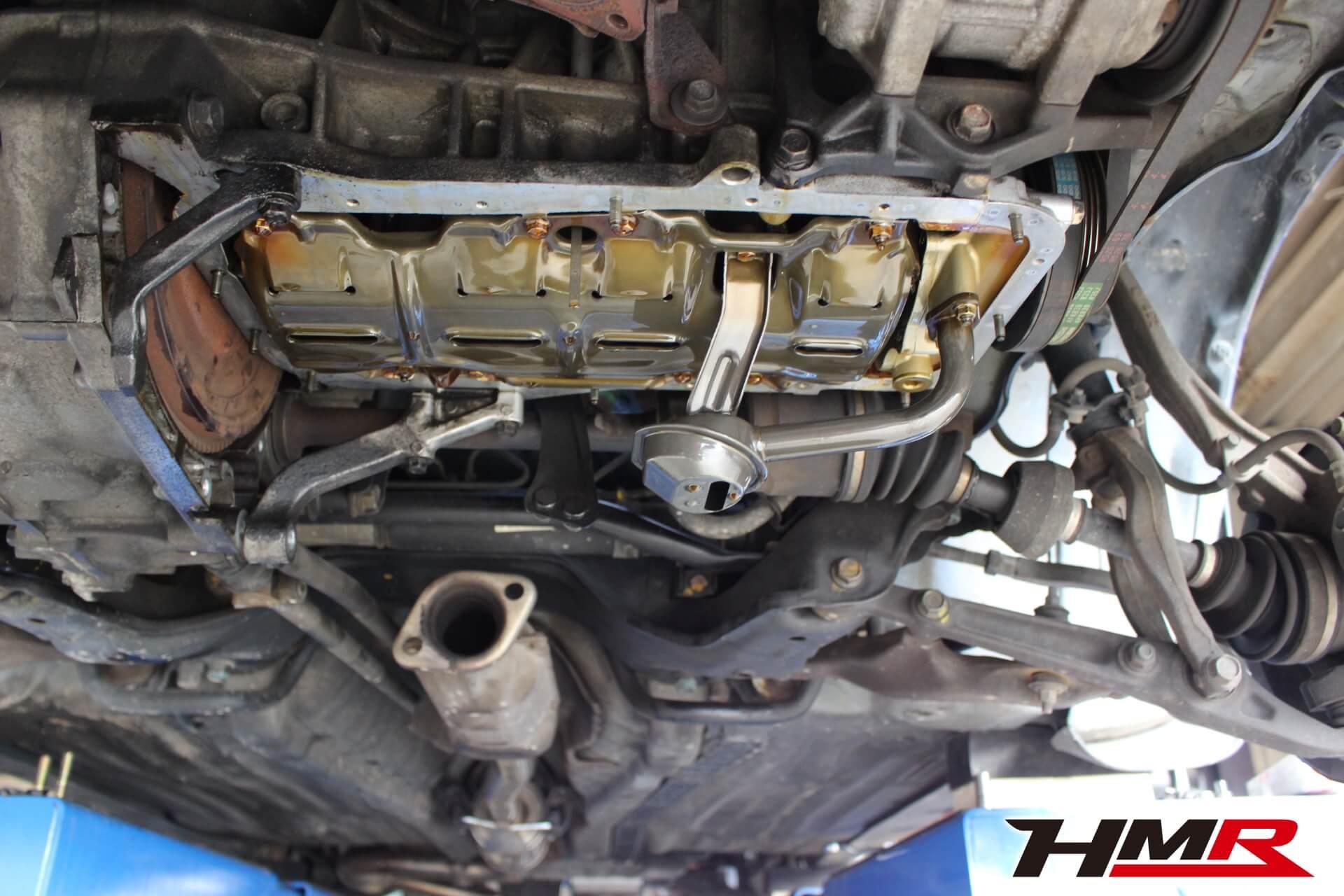 シビック(EG6)エンジンオイルパンパッキン交換画像