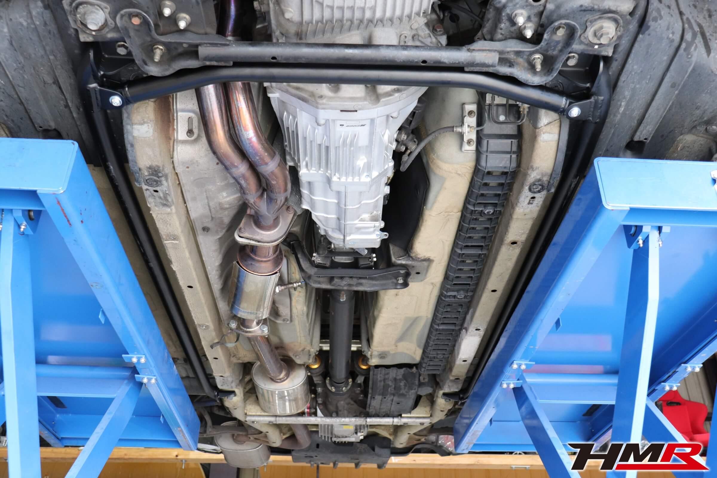 S2000 ASMフロア補強バー取り付け画像