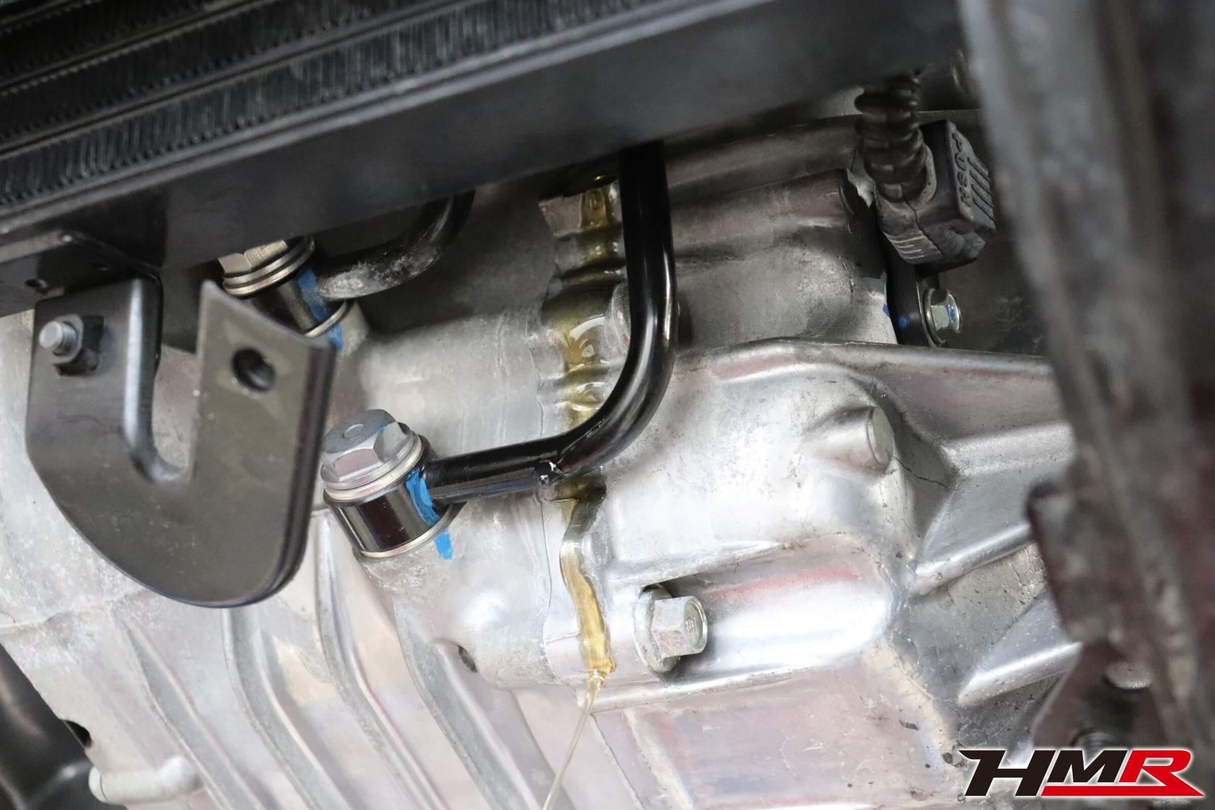シビックタイプR(FK2)オイル交換