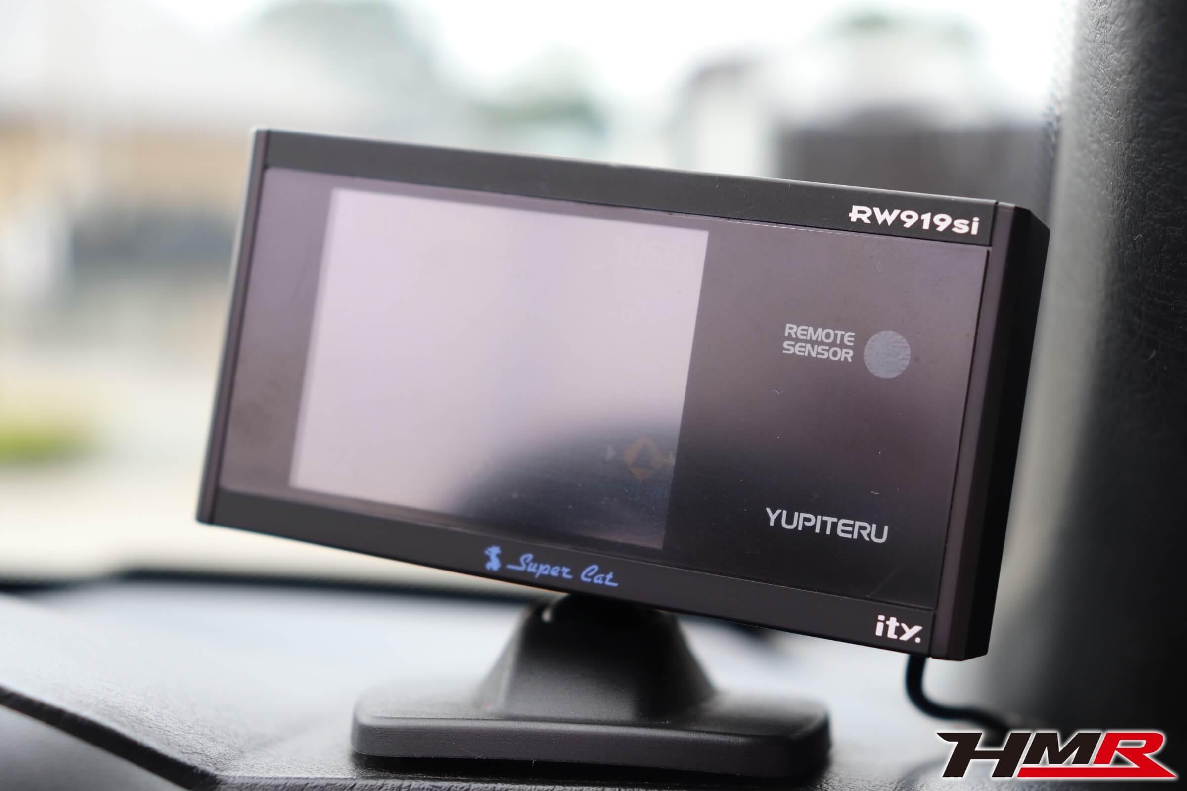 ユピテルレーダー探知機