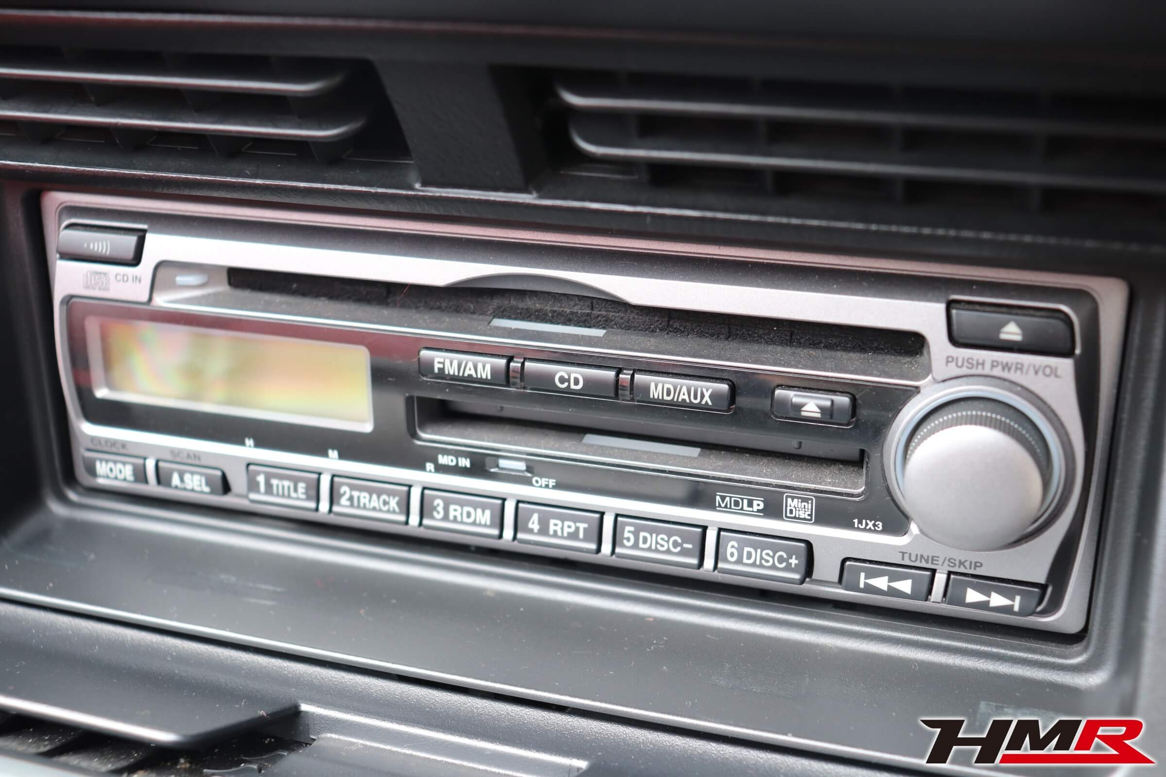 S2000(AP1)純正CDMDデッキ