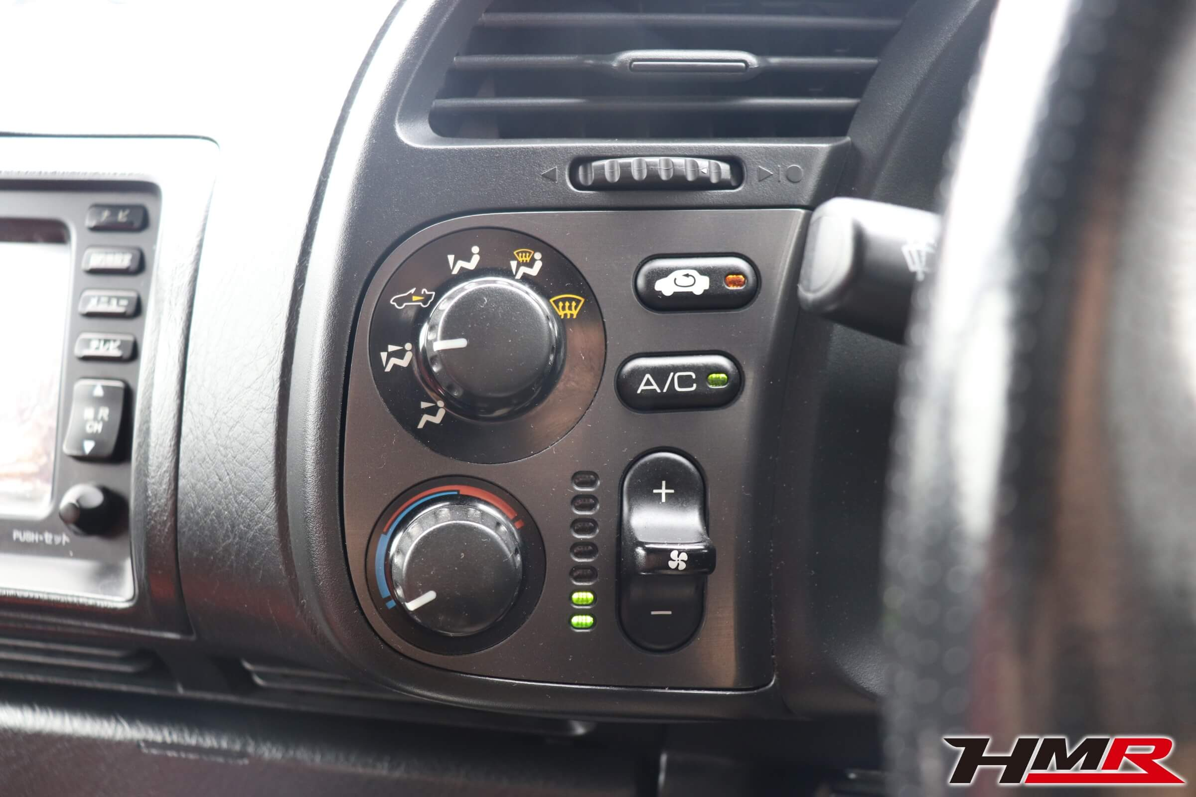 S2000(AP1)エアコンダイヤル