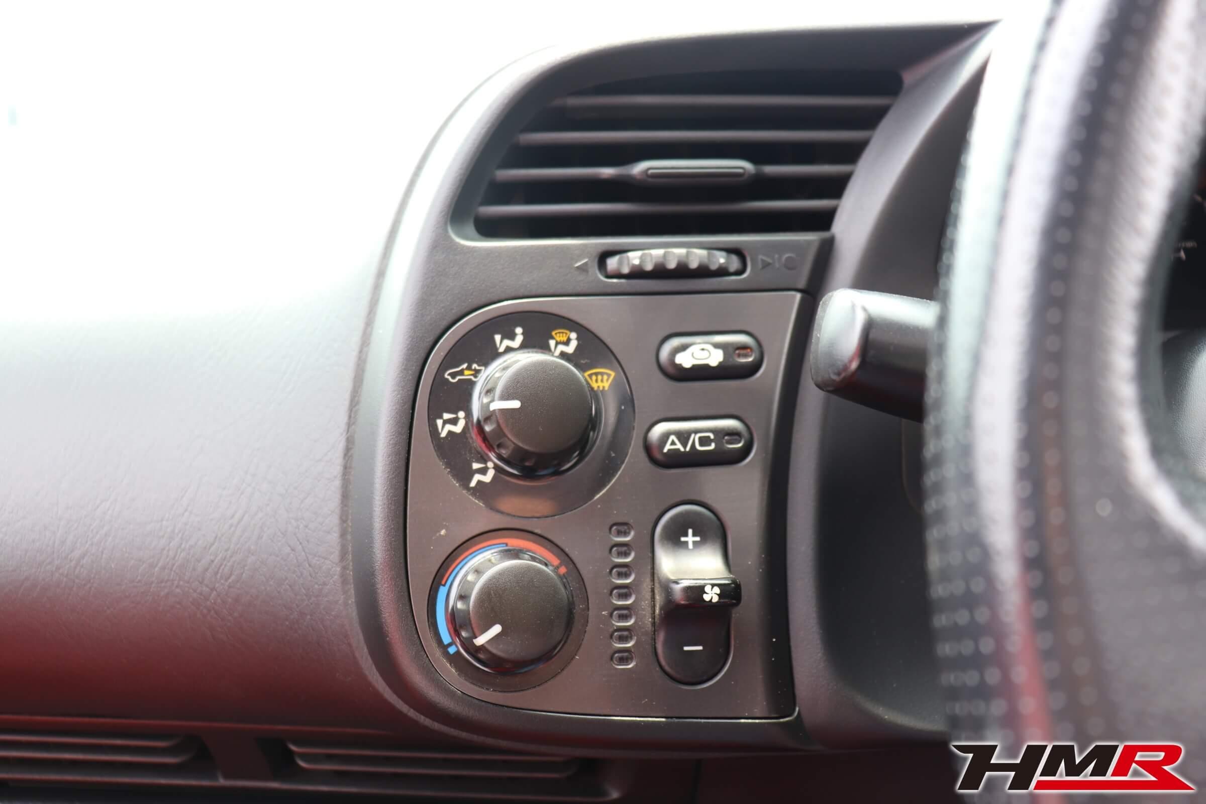 S2000(AP1)エアコンダイアル
