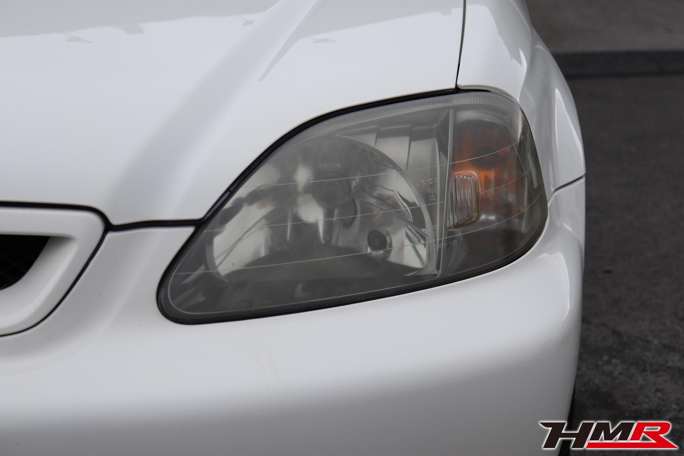 シビックタイプR・X(EK9)ヘッドライト