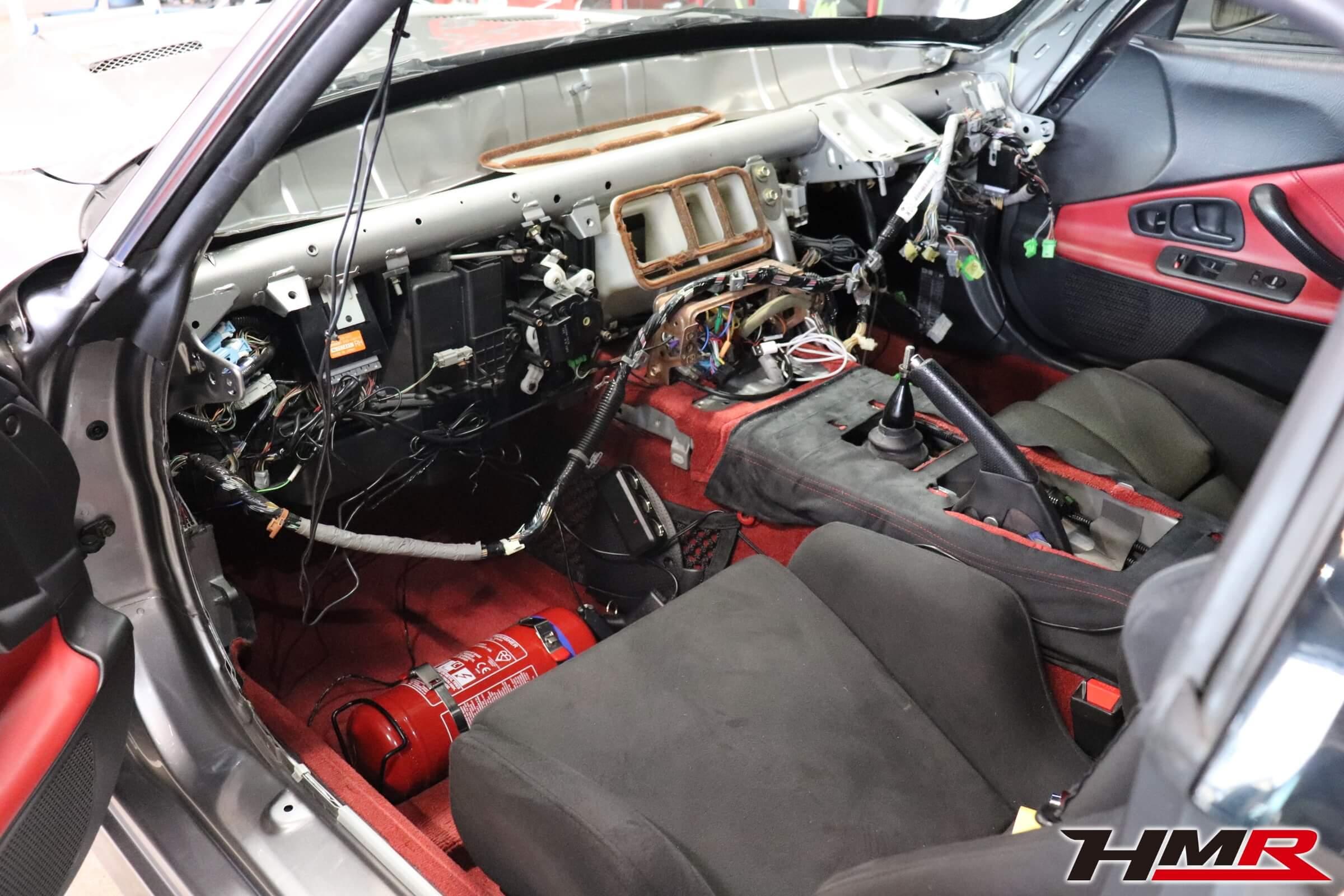 S2000ダッシュボード交換