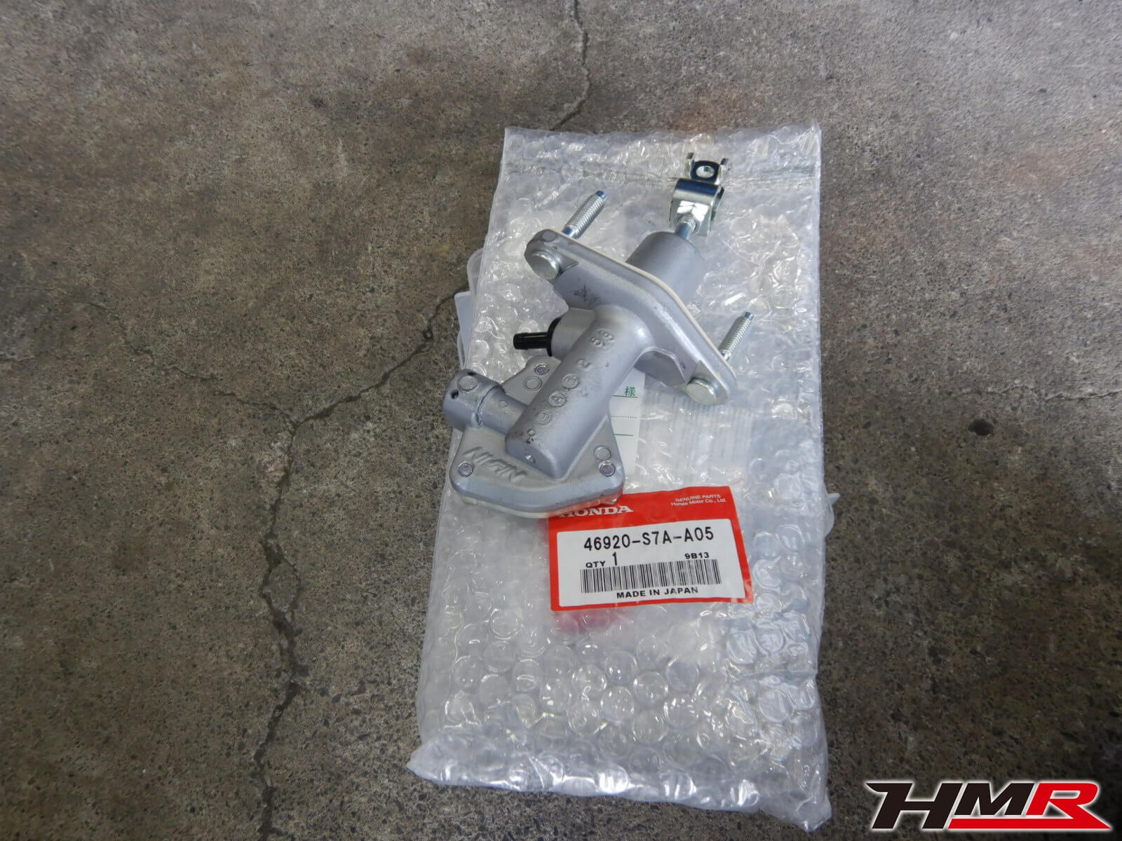 CL7 クラッチマスターシリンダー交換