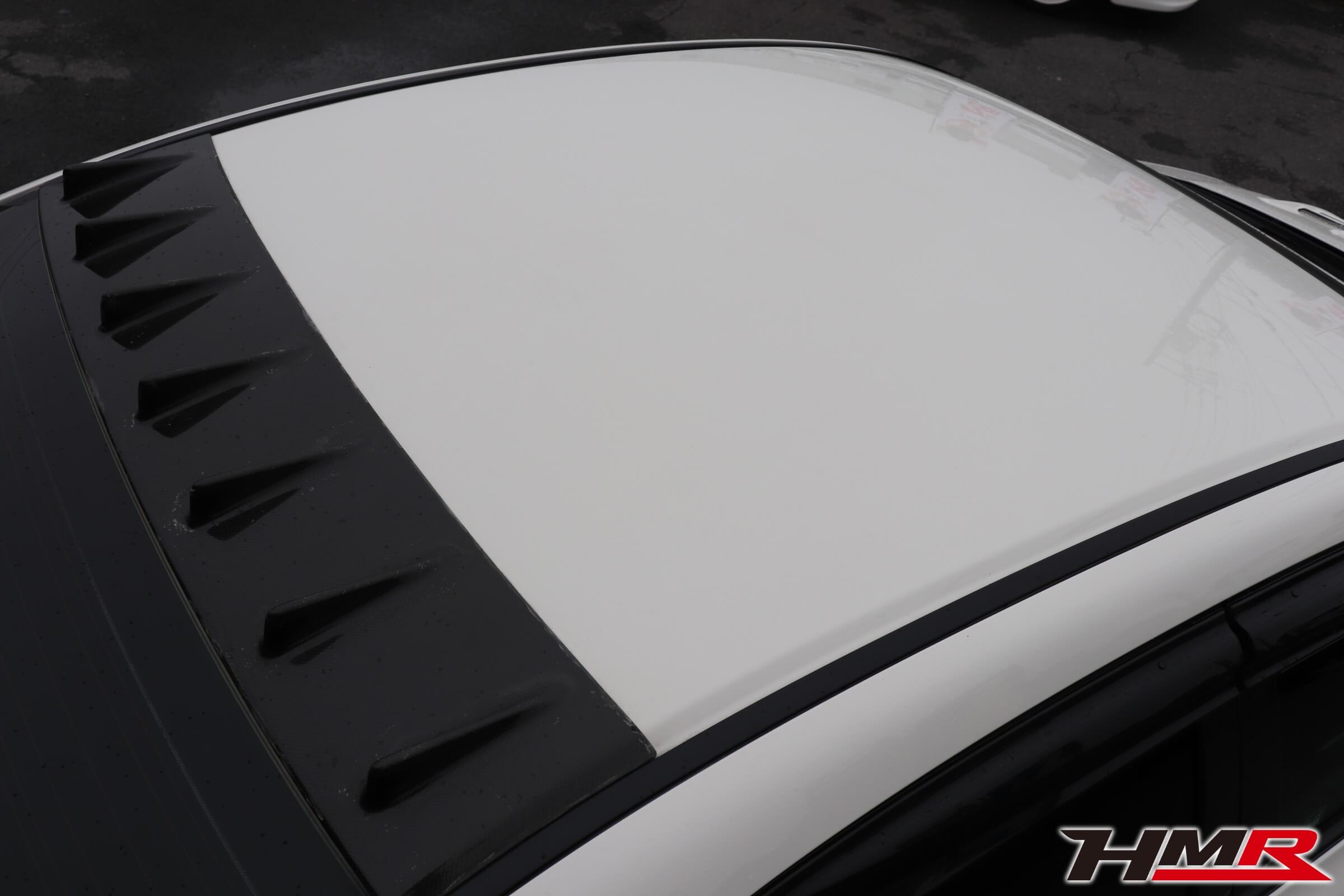 シビックタイプR(FD2)チャージスピードのカーボンルーフフィン