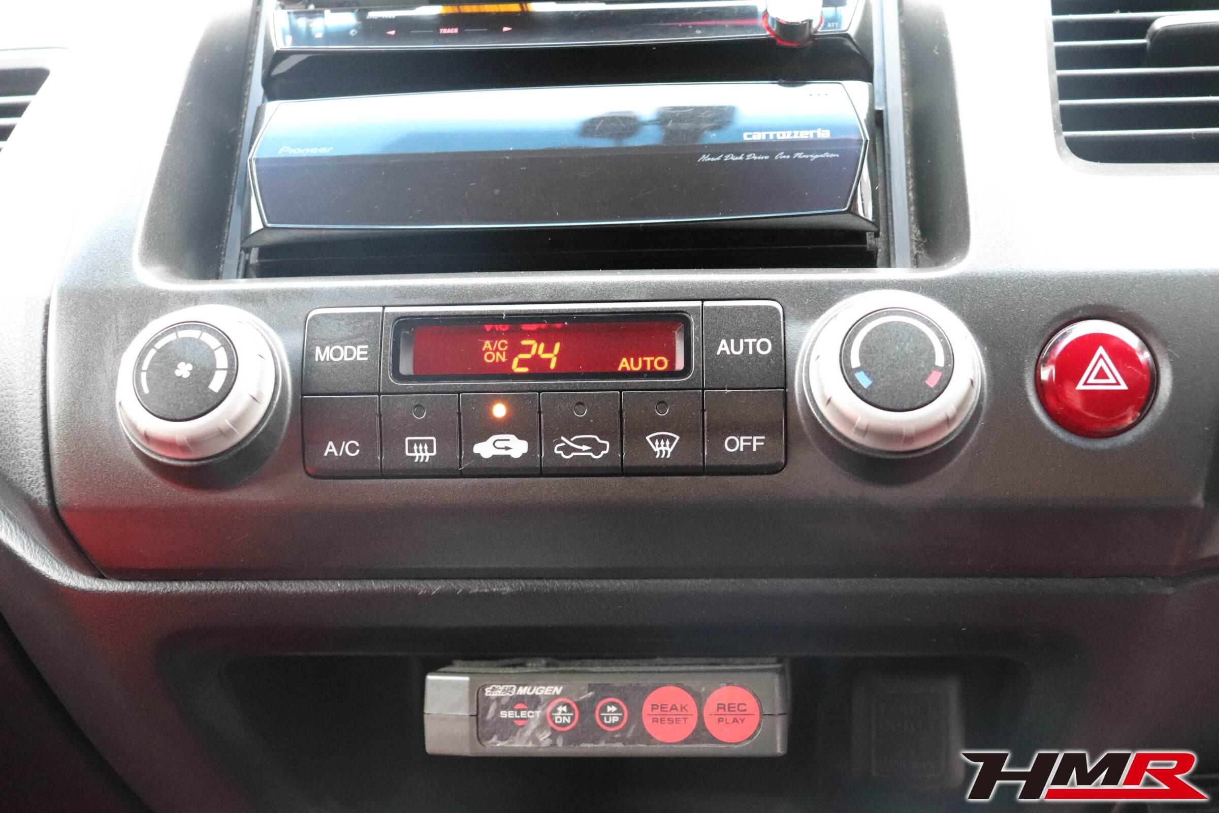 シビックタイプR(FD2)エアコンパネル