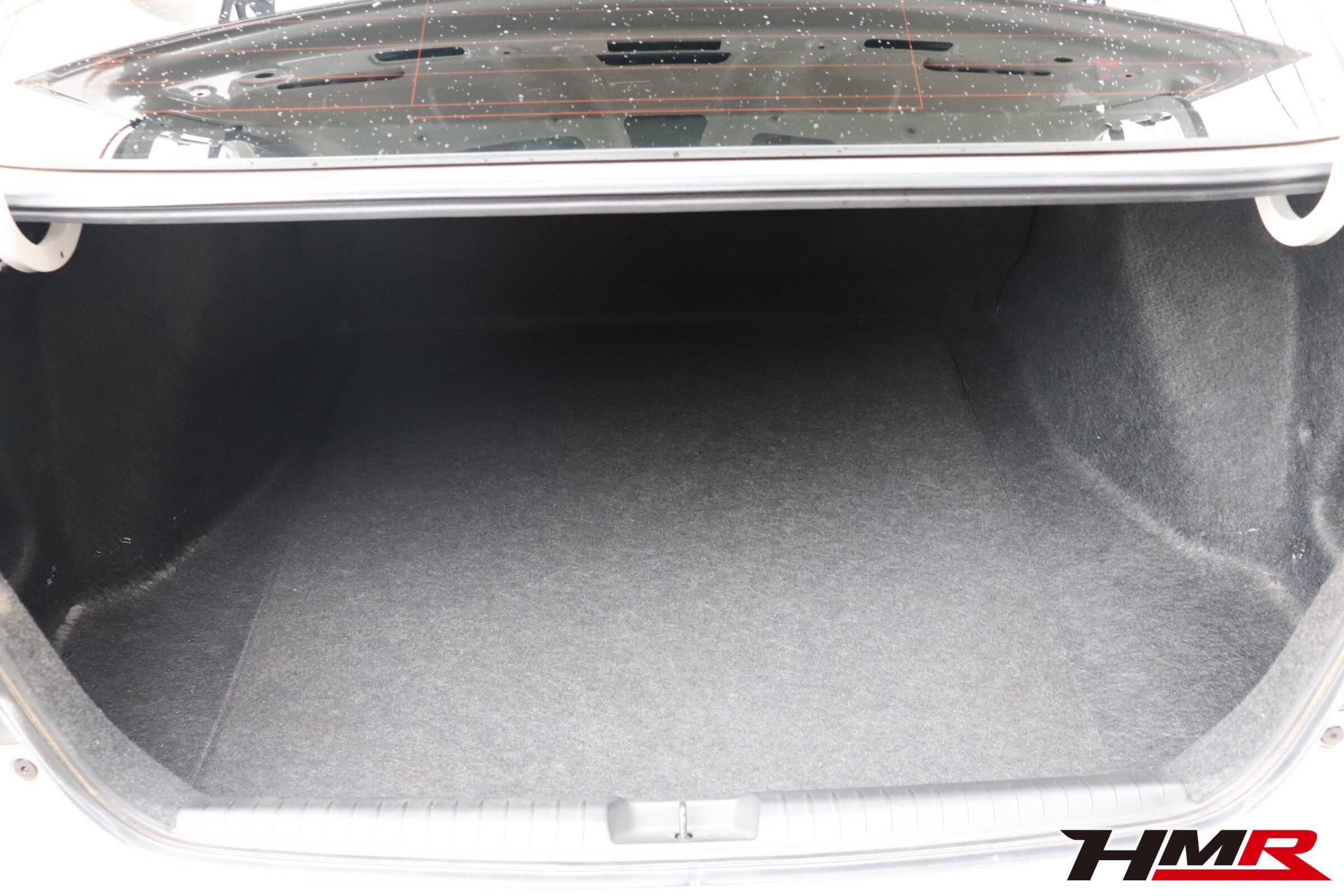 シビックタイプR(FD2)トランク