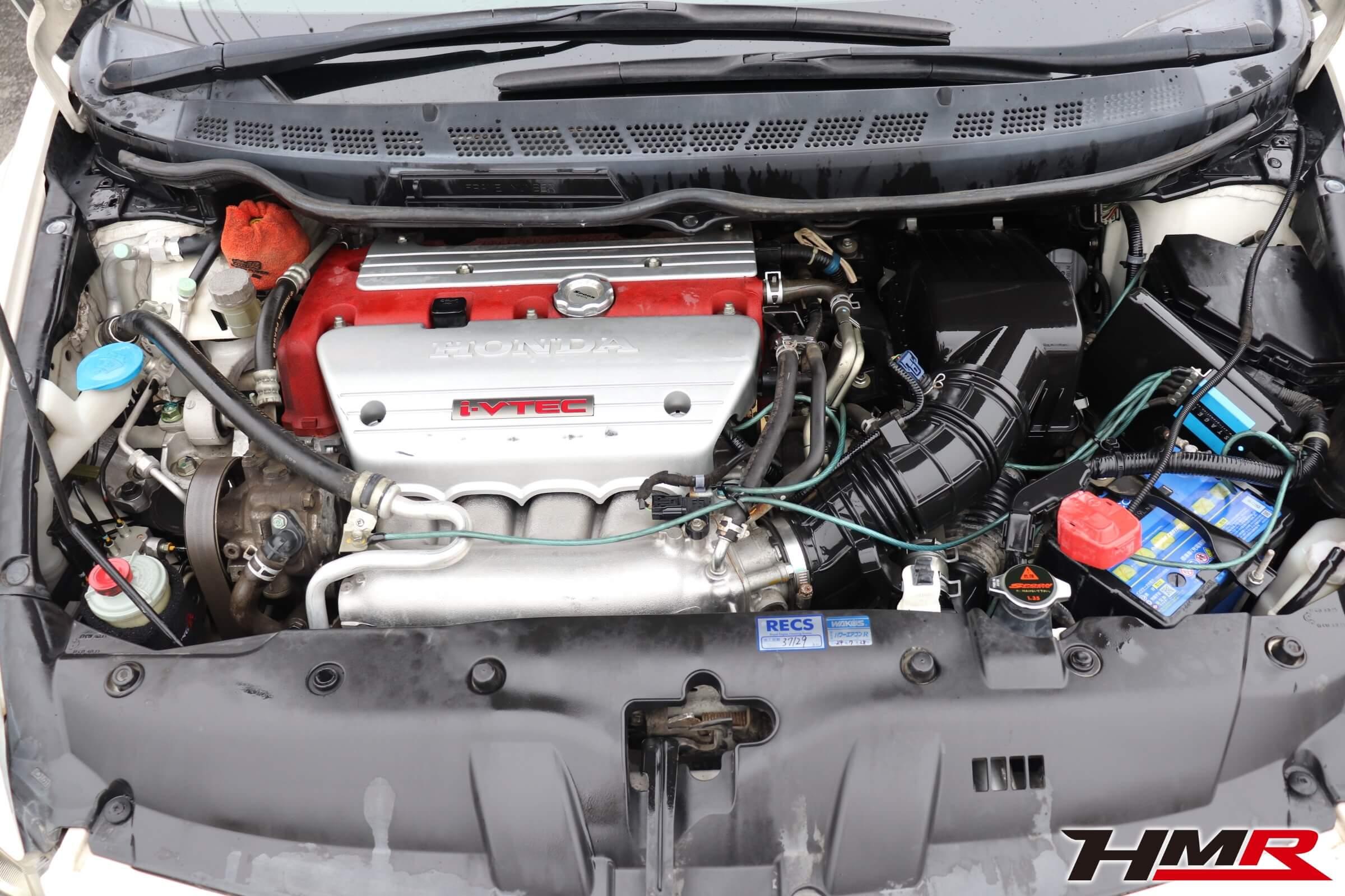 シビックタイプR(FD2)エンジンルーム