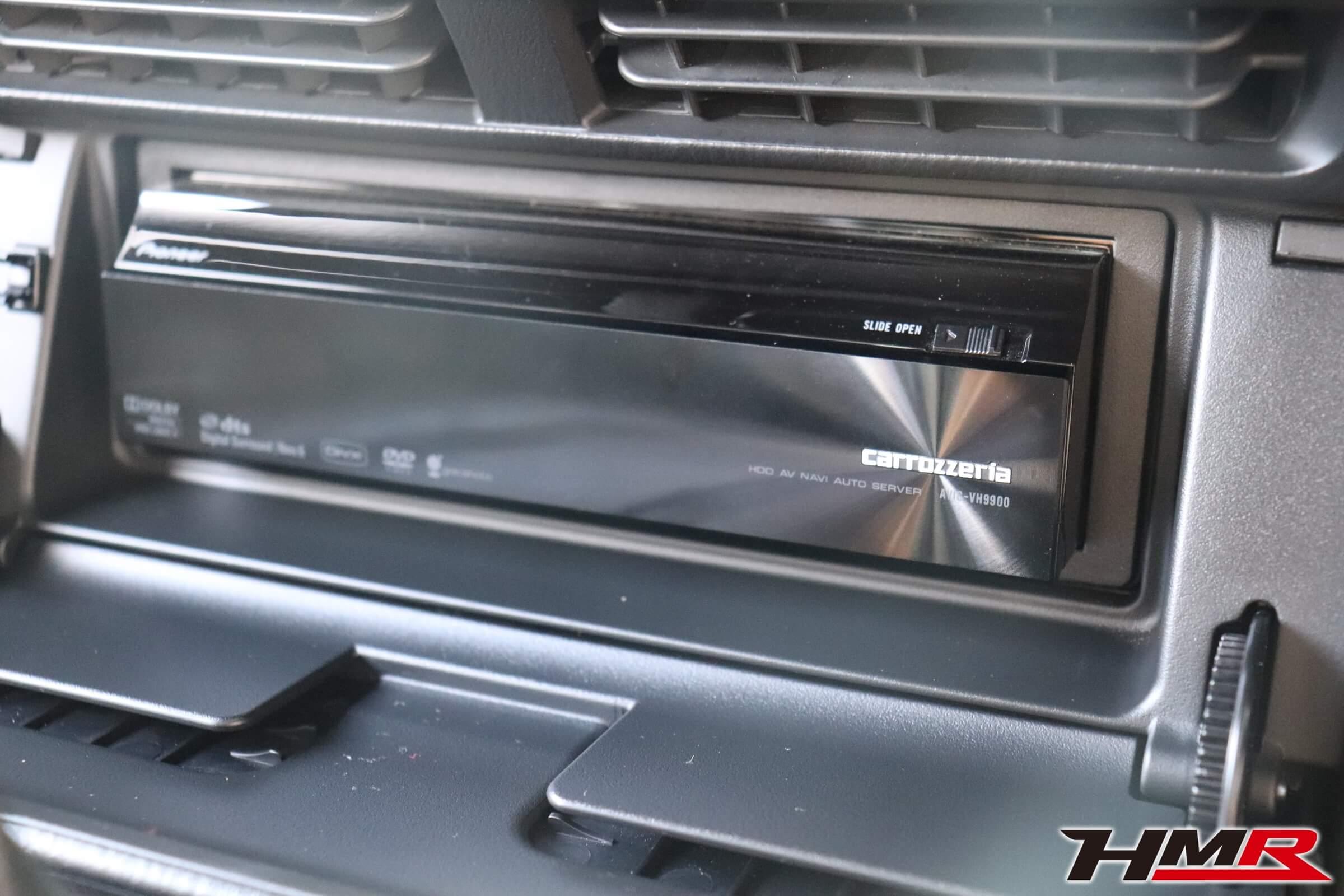 S2000(AP1)カロッツェリアHDDナビ