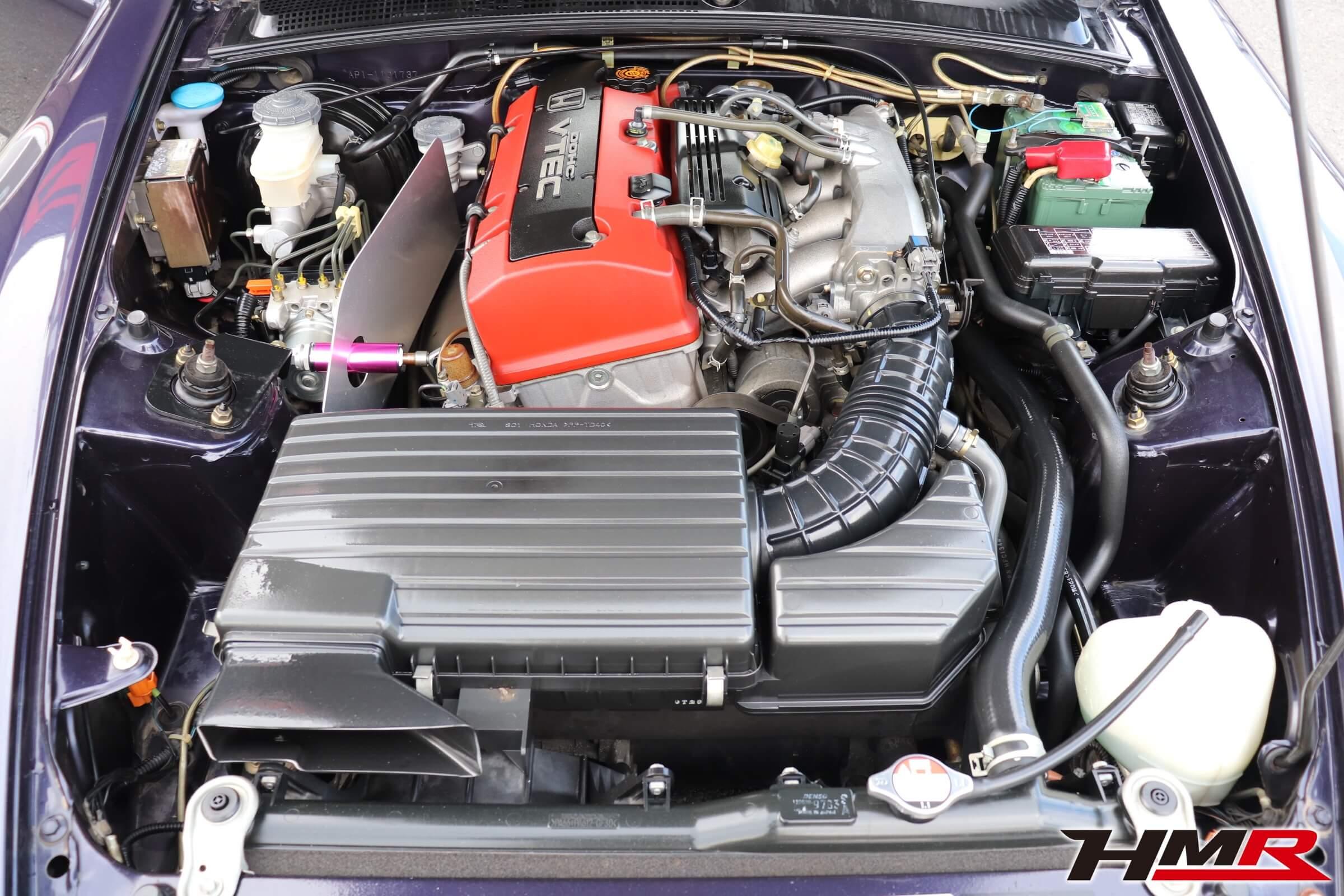 S2000(AP1)エンジンルーム