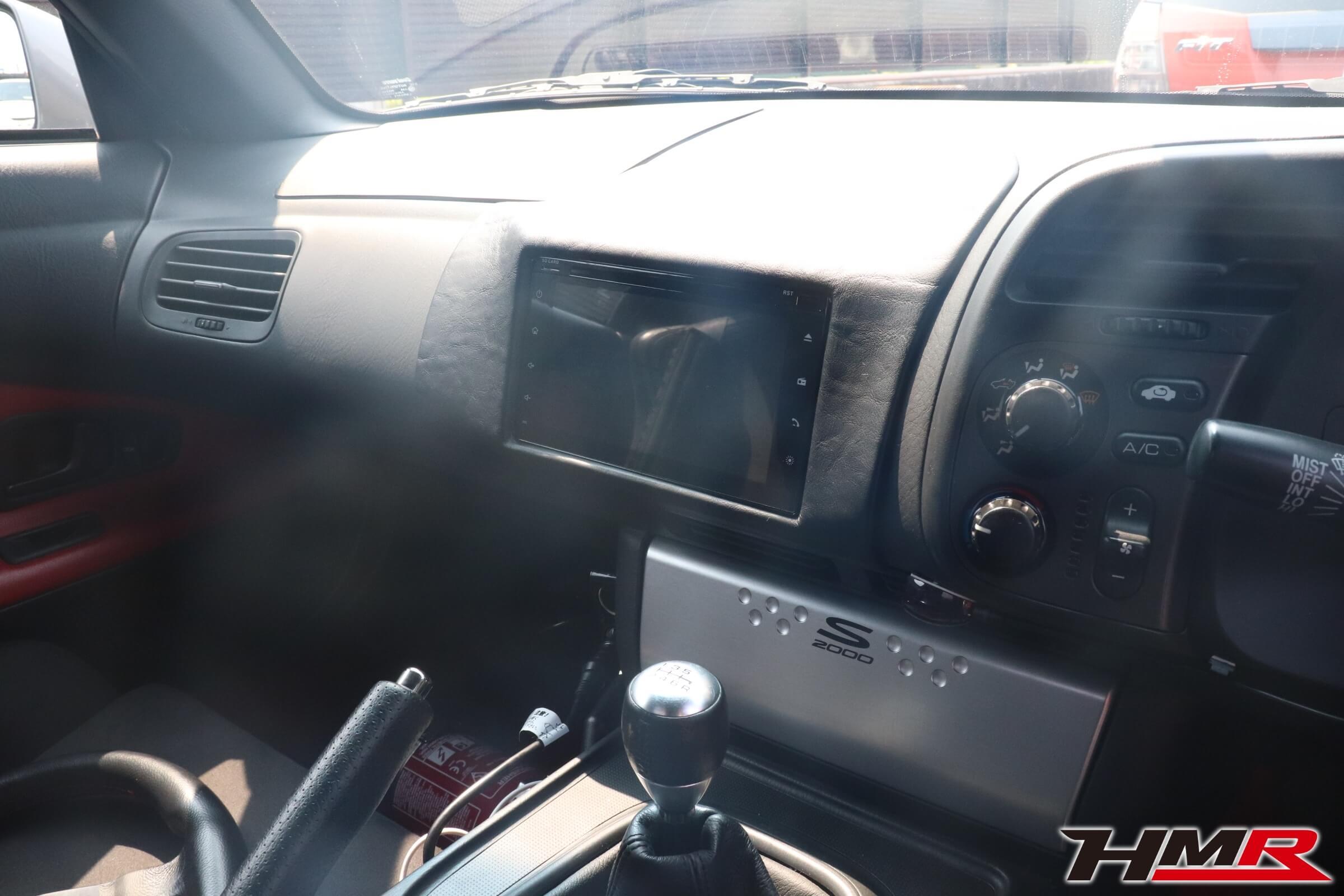 S2000ダッシュボード2DINモニター
