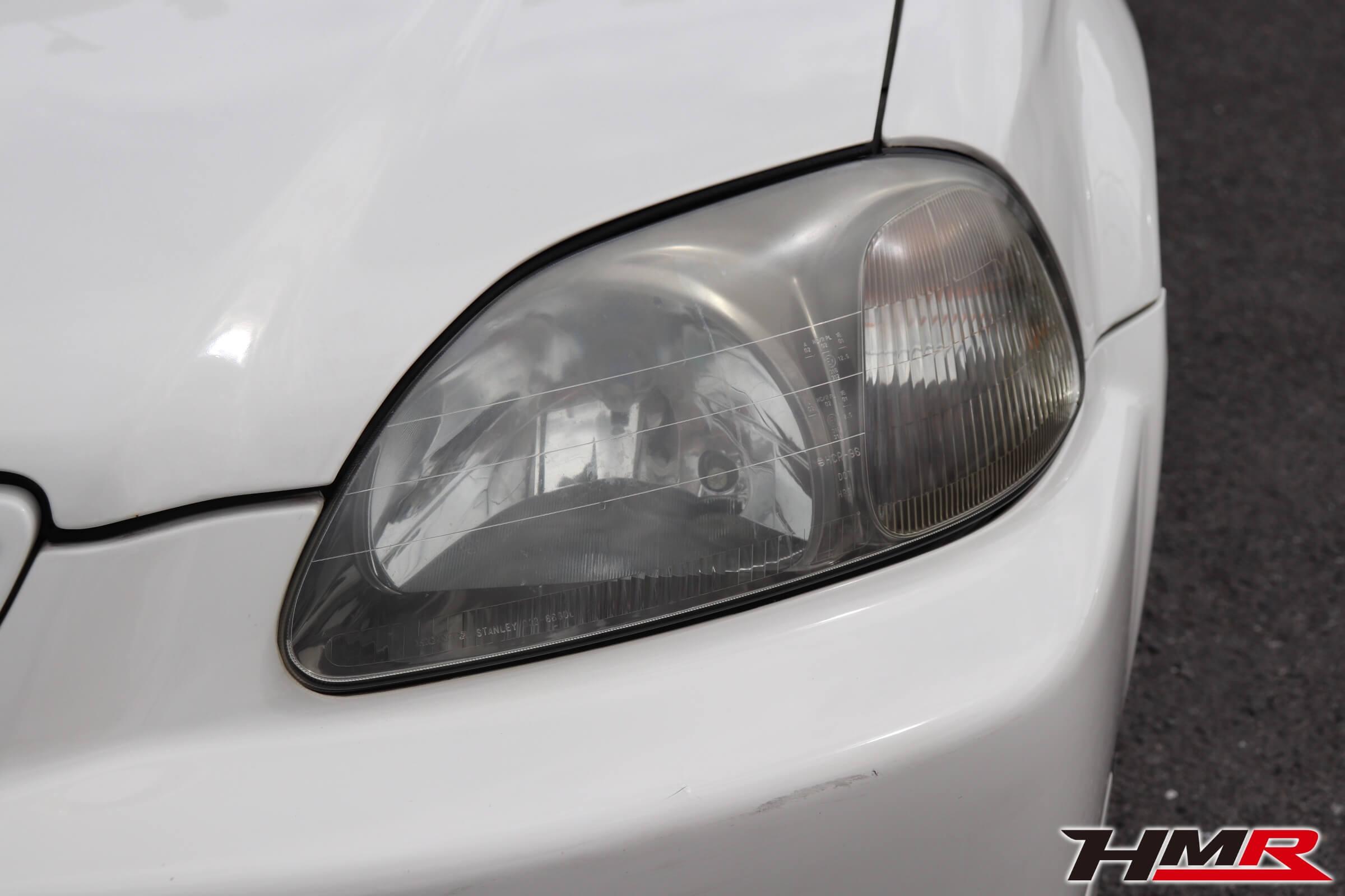 シビックタイプR(EK9)ヘッドライト