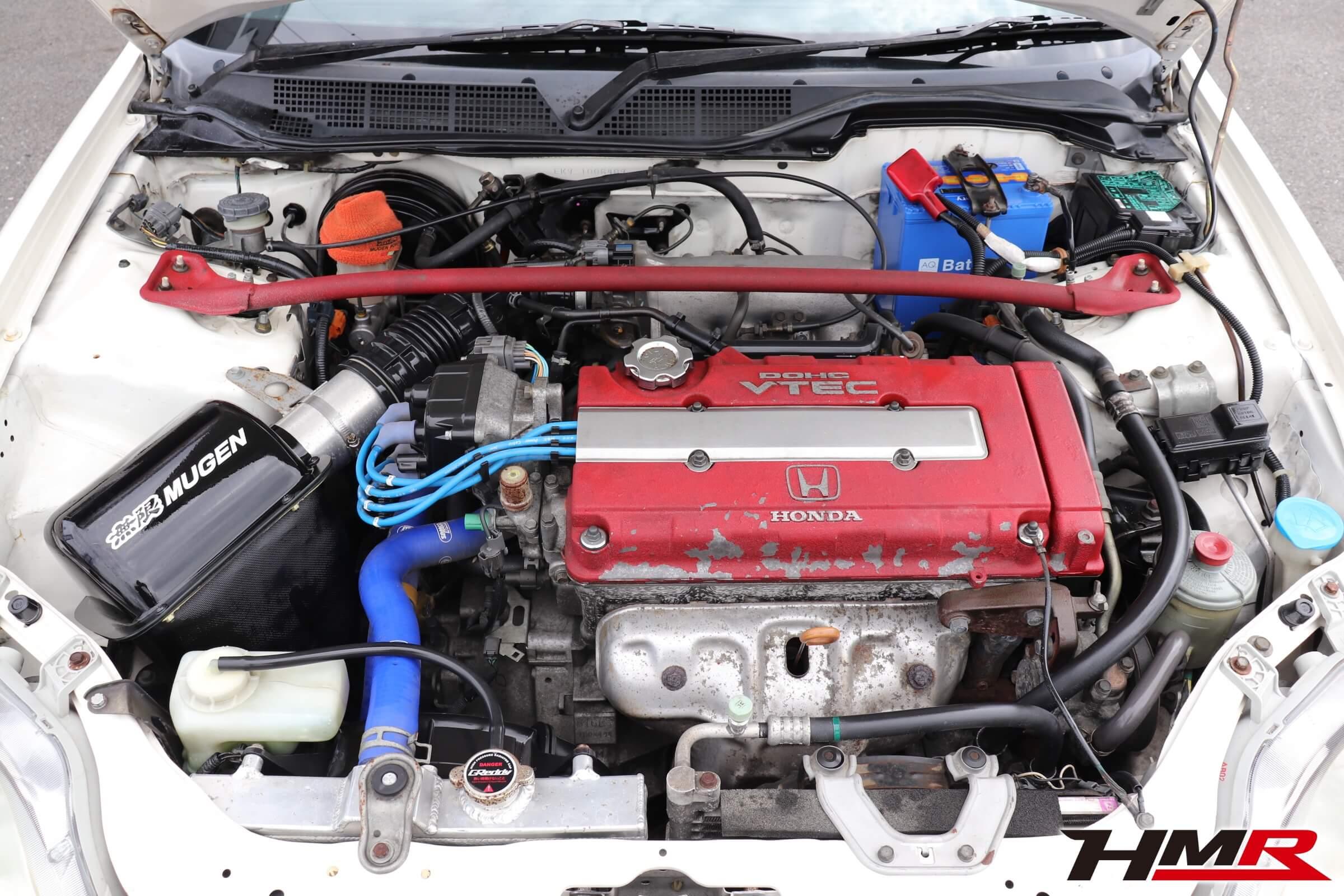 シビックタイプR(EK9)エンジンルーム