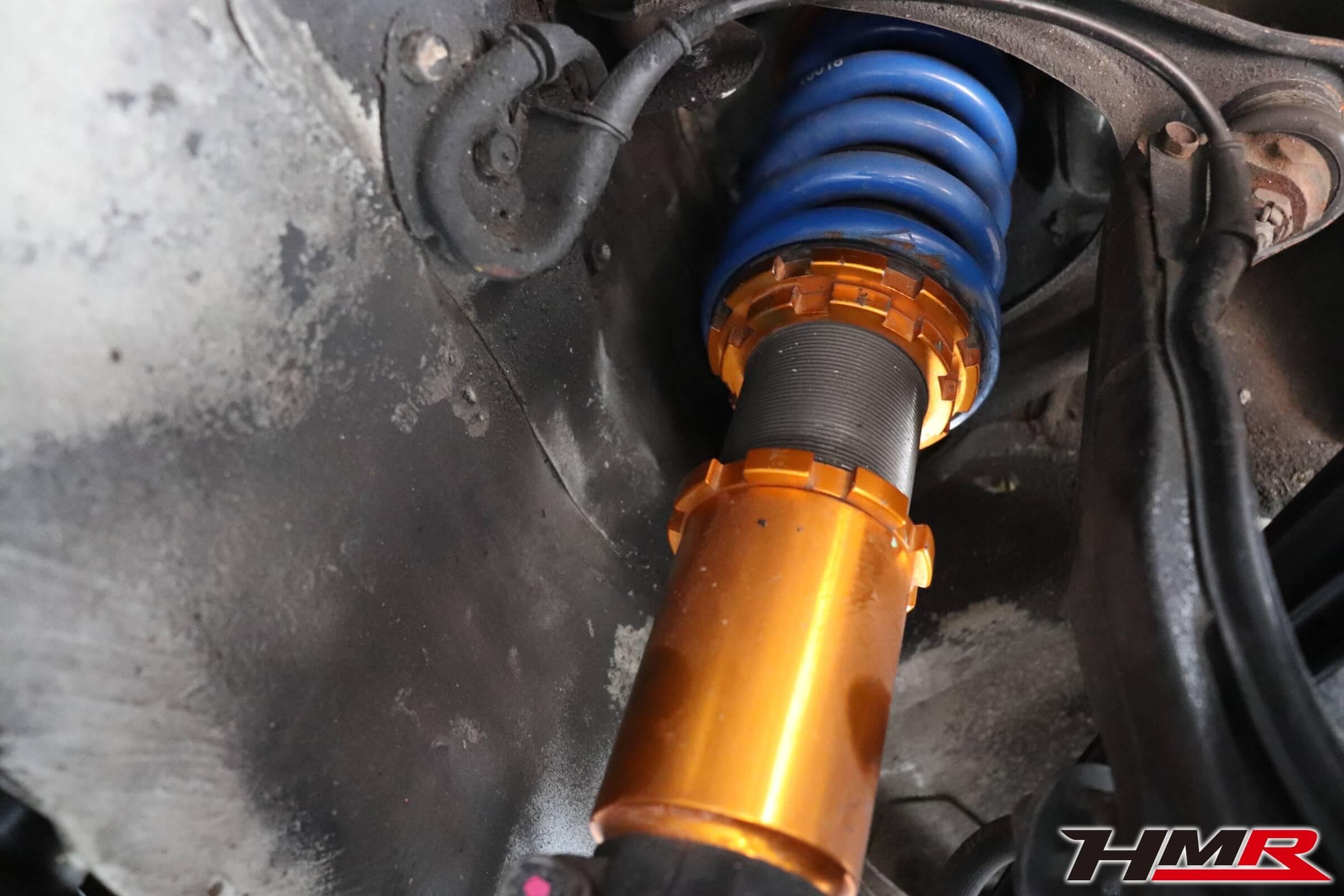 シビックタイプR(EK9)ゼロファイター車高調