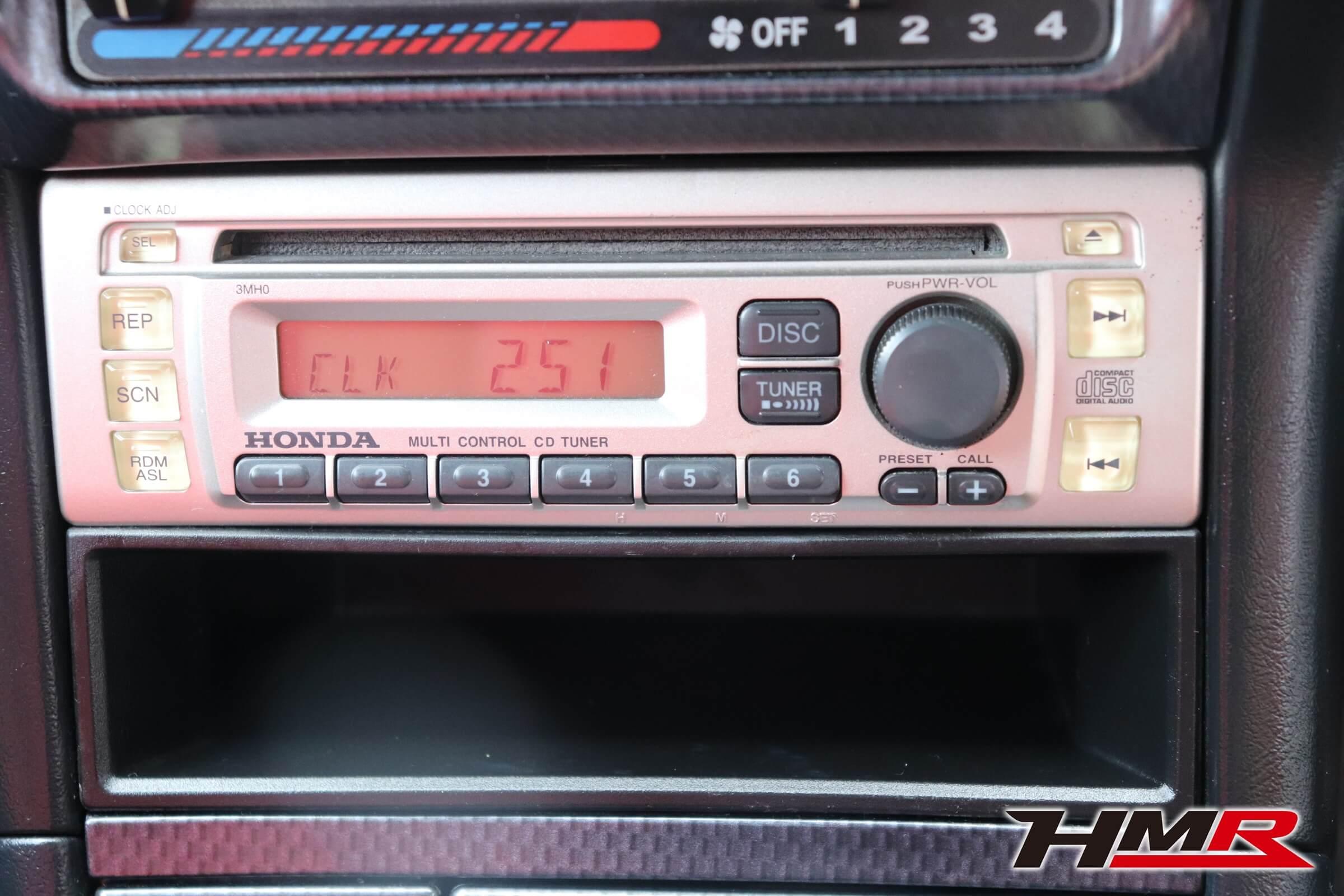 インテグラタイプR X(DC2)純正CDデッキ