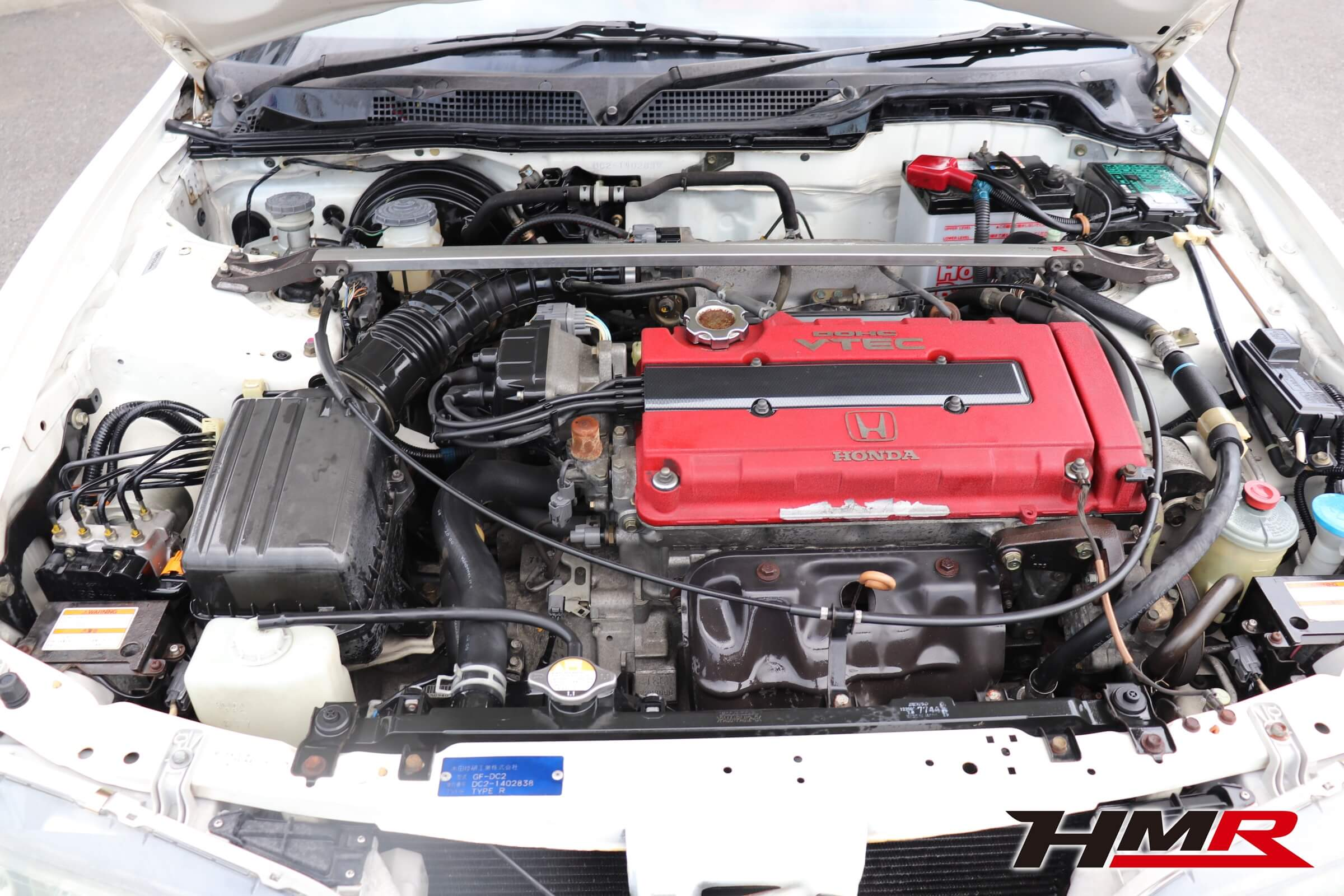 インテグラタイプR X(DC2)エンジン