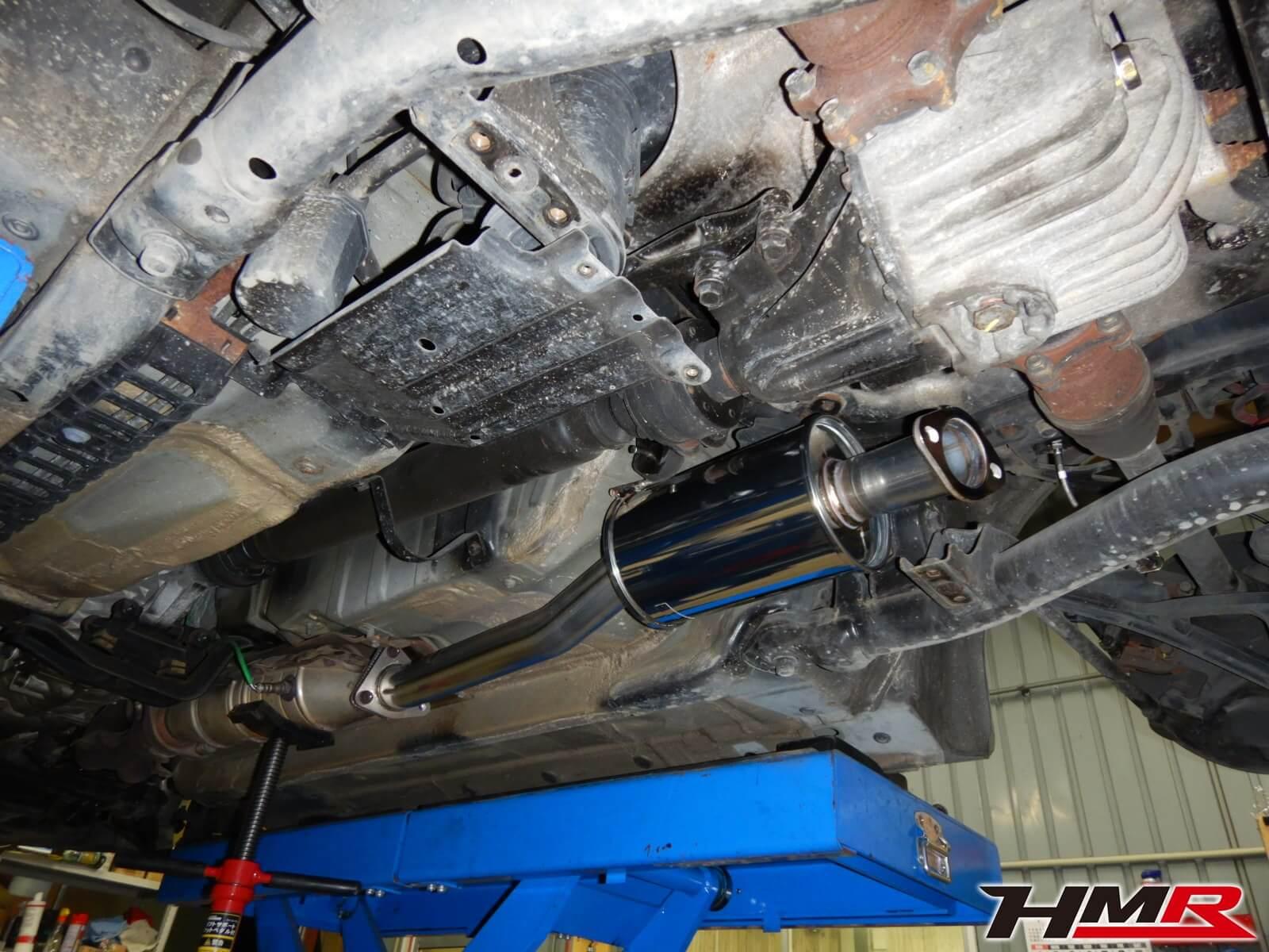 S2000 AP1 マフラー交換 SPOON